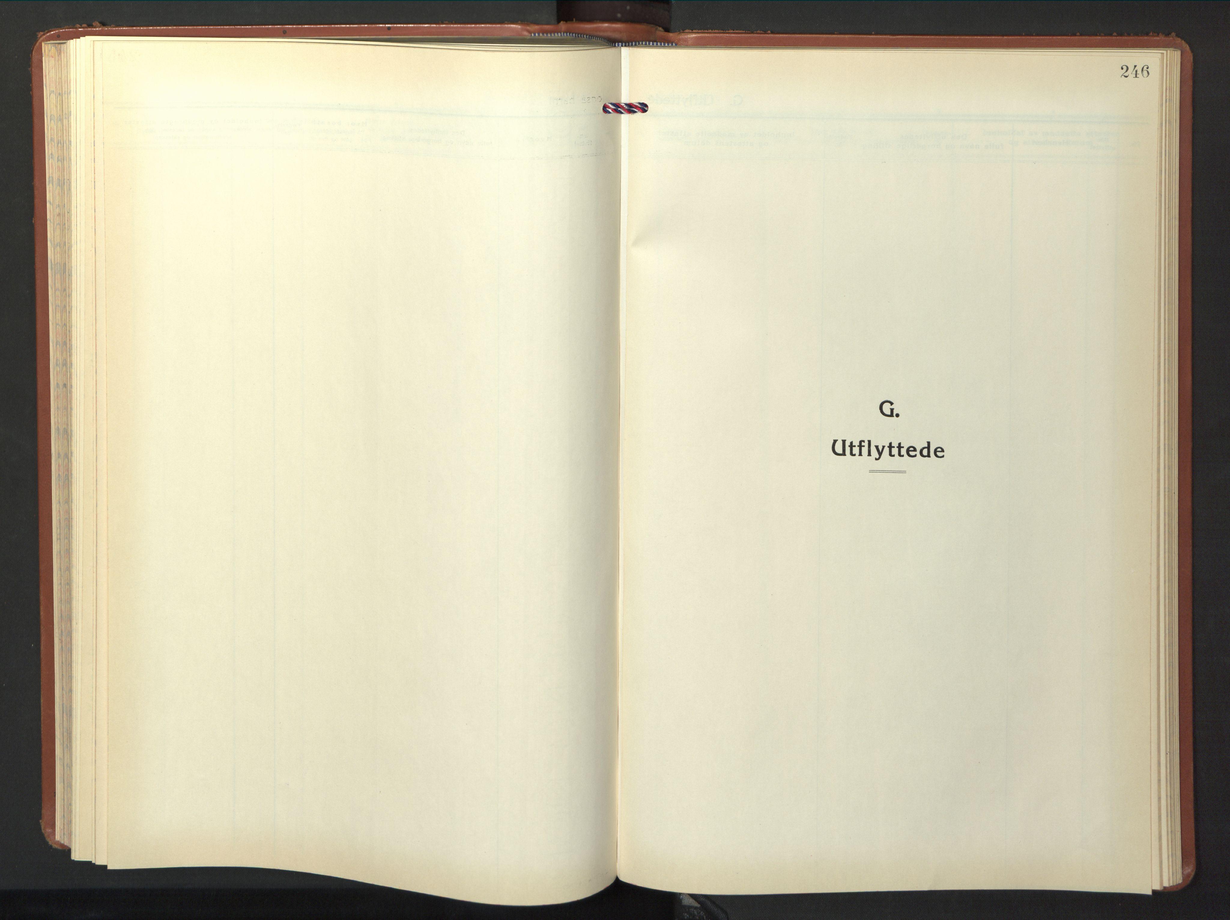 SAT, Ministerialprotokoller, klokkerbøker og fødselsregistre - Nord-Trøndelag, 774/L0631: Klokkerbok nr. 774C02, 1934-1950, s. 246