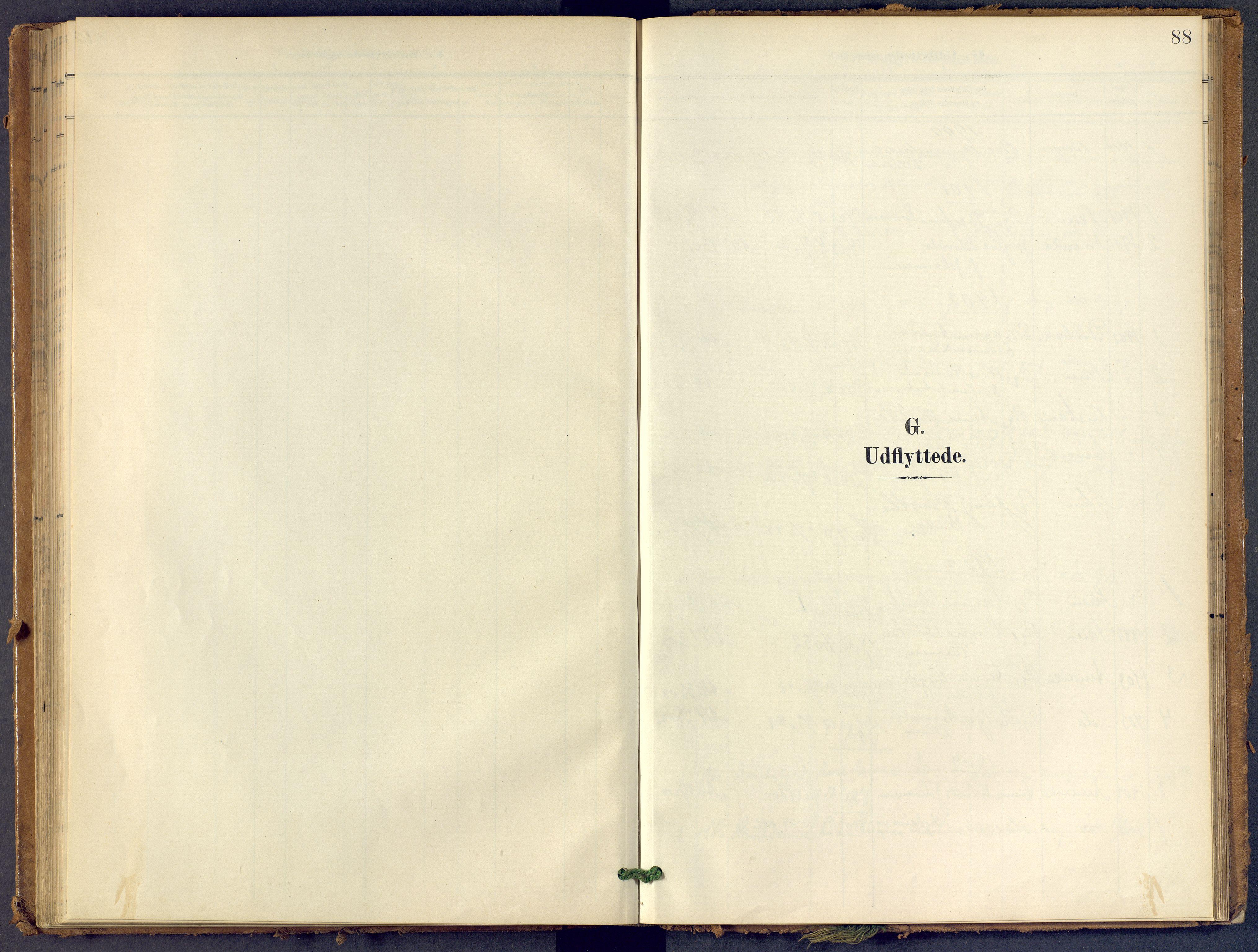 SAKO, Bamble kirkebøker, F/Fb/L0002: Ministerialbok nr. II 2, 1900-1921, s. 88