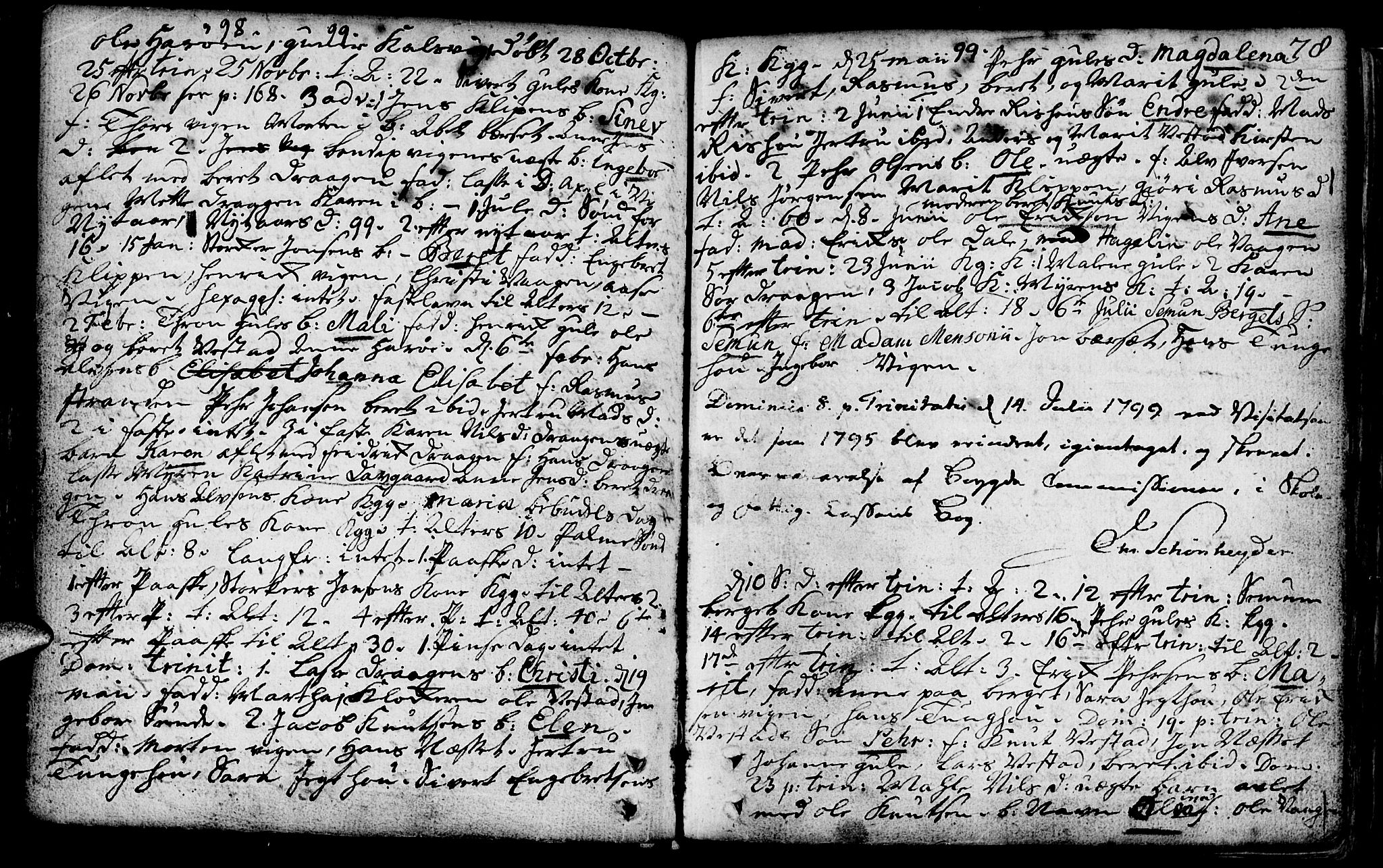 SAT, Ministerialprotokoller, klokkerbøker og fødselsregistre - Møre og Romsdal, 566/L0761: Ministerialbok nr. 566A02 /1, 1767-1817, s. 78