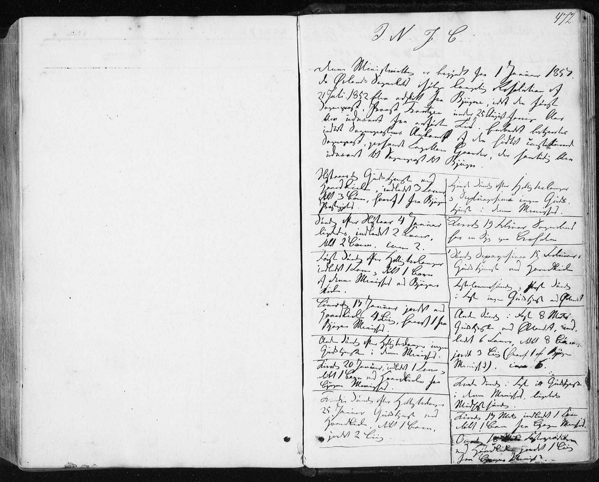 SAT, Ministerialprotokoller, klokkerbøker og fødselsregistre - Sør-Trøndelag, 659/L0737: Ministerialbok nr. 659A07, 1857-1875, s. 472