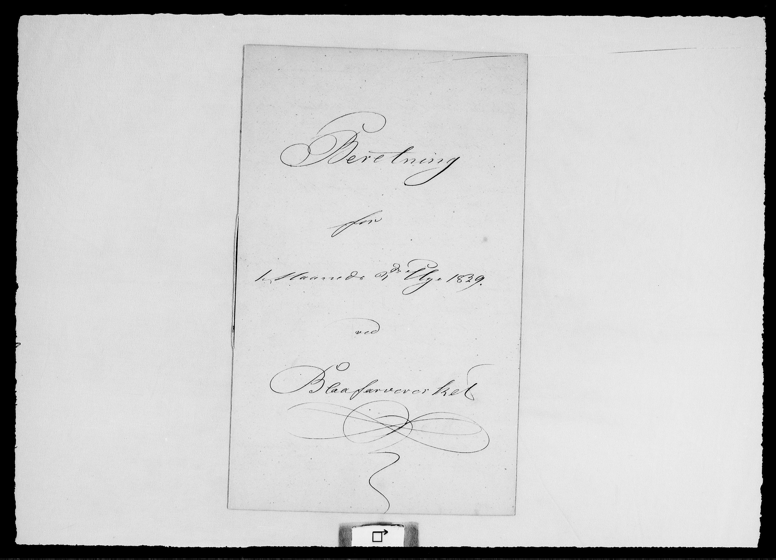 RA, Modums Blaafarveværk, G/Ge/L0324, 1839-1841, s. 2