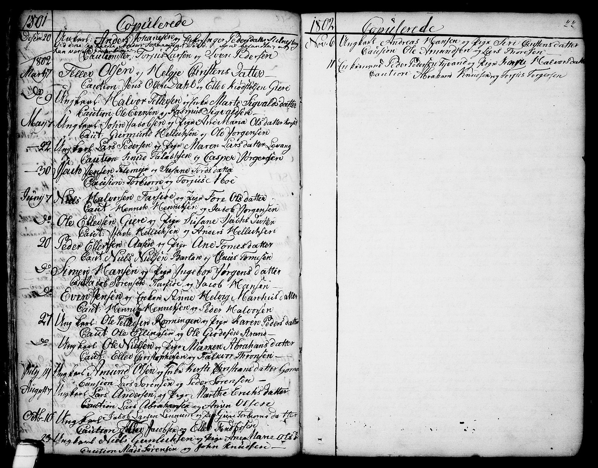 SAKO, Sannidal kirkebøker, F/Fa/L0002: Ministerialbok nr. 2, 1767-1802, s. 22