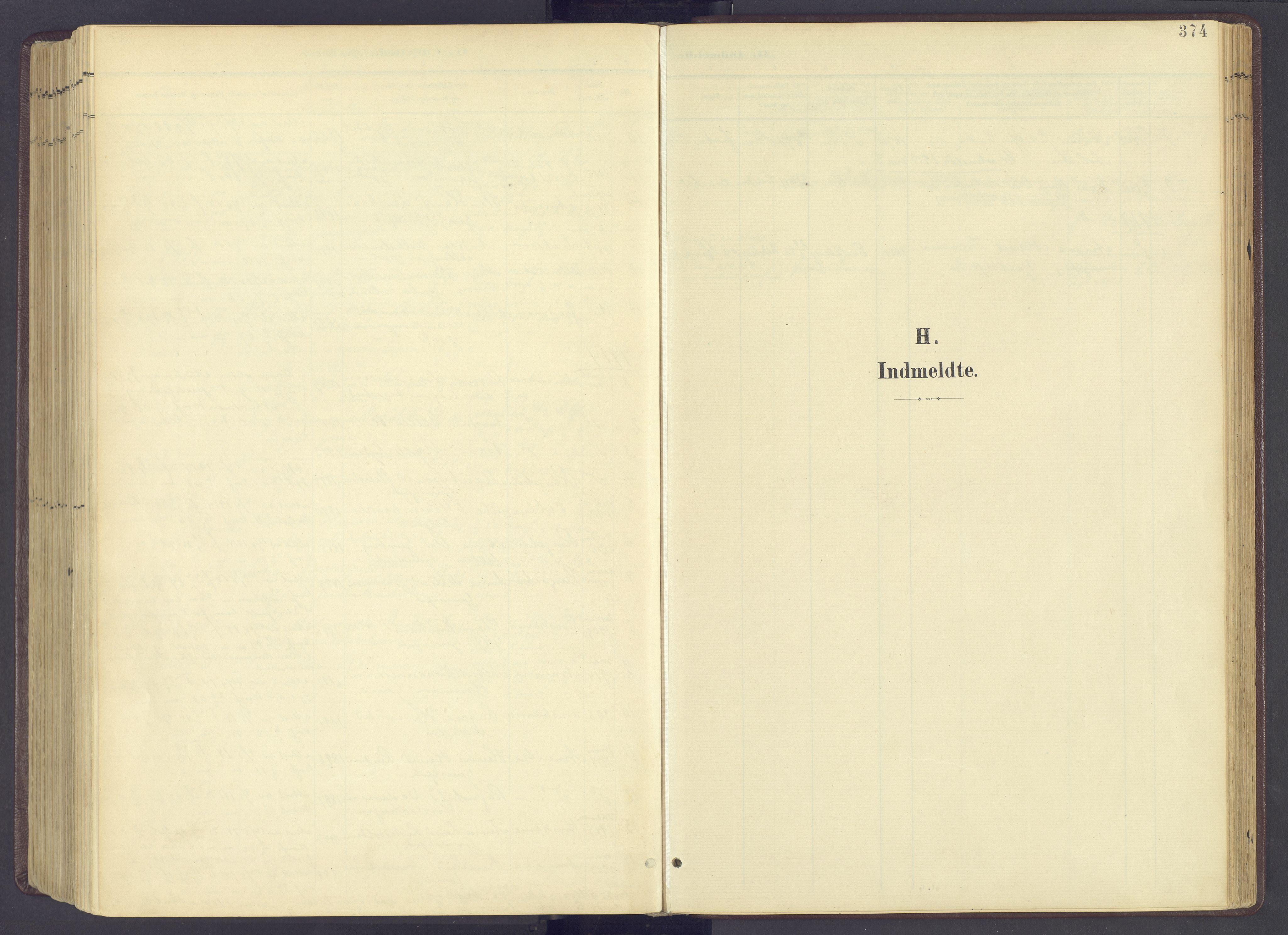 SAH, Sør-Fron prestekontor, H/Ha/Haa/L0004: Ministerialbok nr. 4, 1898-1919, s. 374