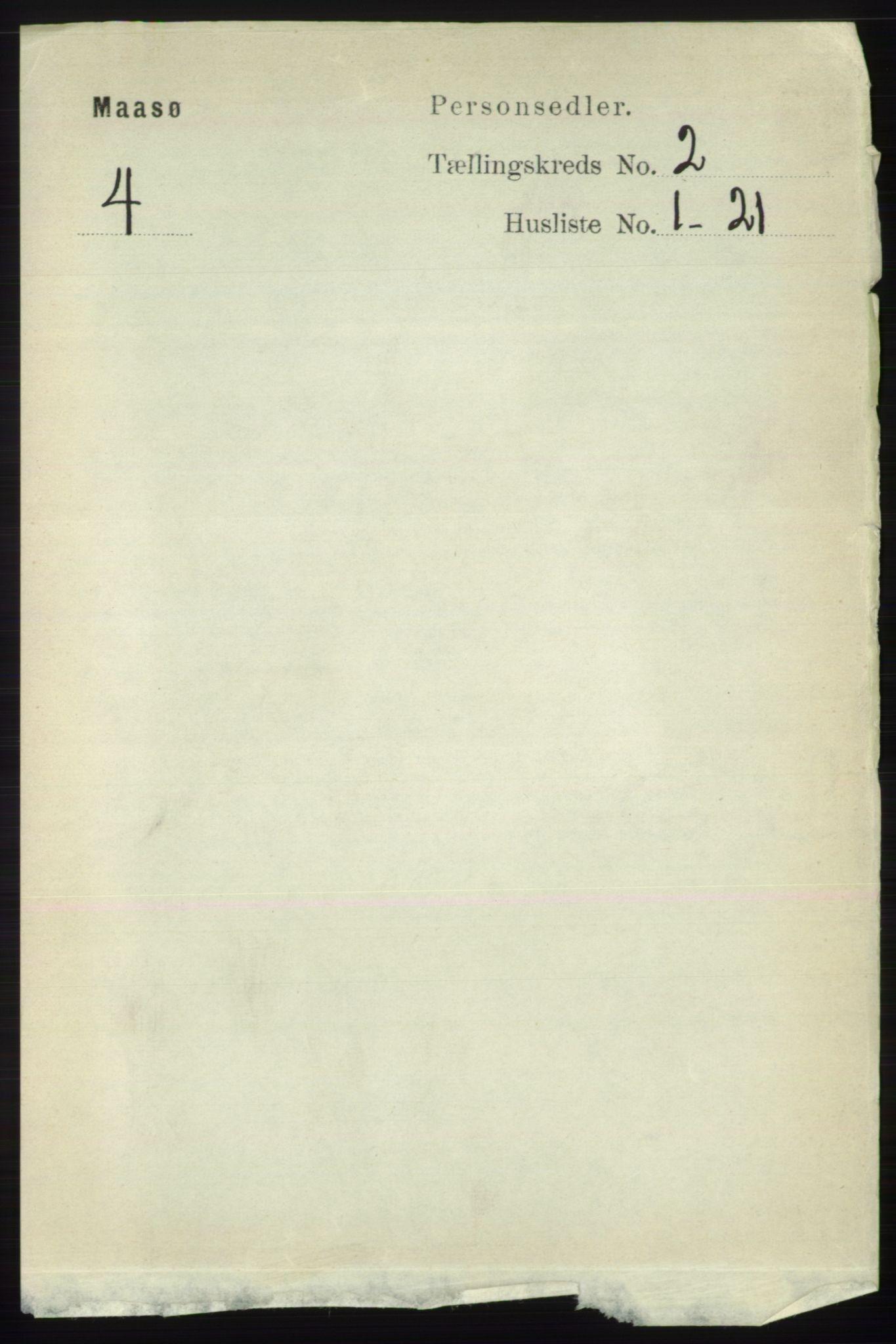 RA, Folketelling 1891 for 2018 Måsøy herred, 1891, s. 240