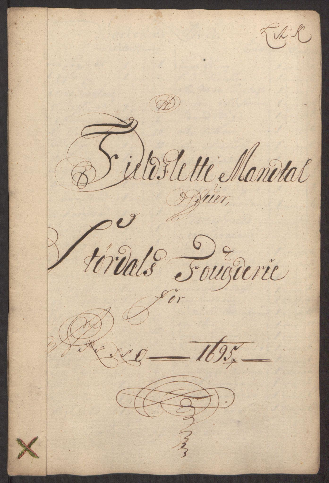 RA, Rentekammeret inntil 1814, Reviderte regnskaper, Fogderegnskap, R62/L4187: Fogderegnskap Stjørdal og Verdal, 1695, s. 131