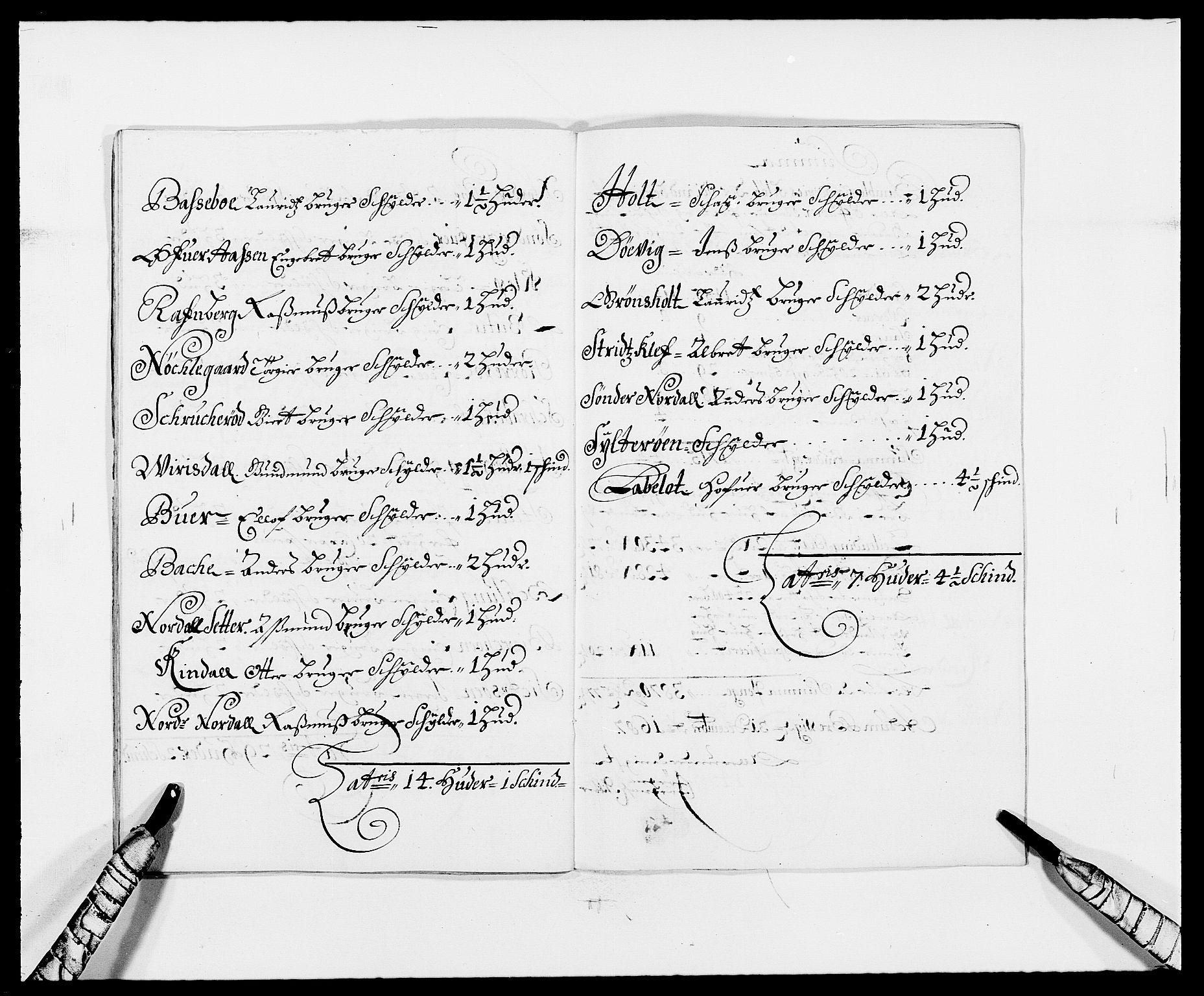 RA, Rentekammeret inntil 1814, Reviderte regnskaper, Fogderegnskap, R34/L2049: Fogderegnskap Bamble, 1685-1687, s. 251