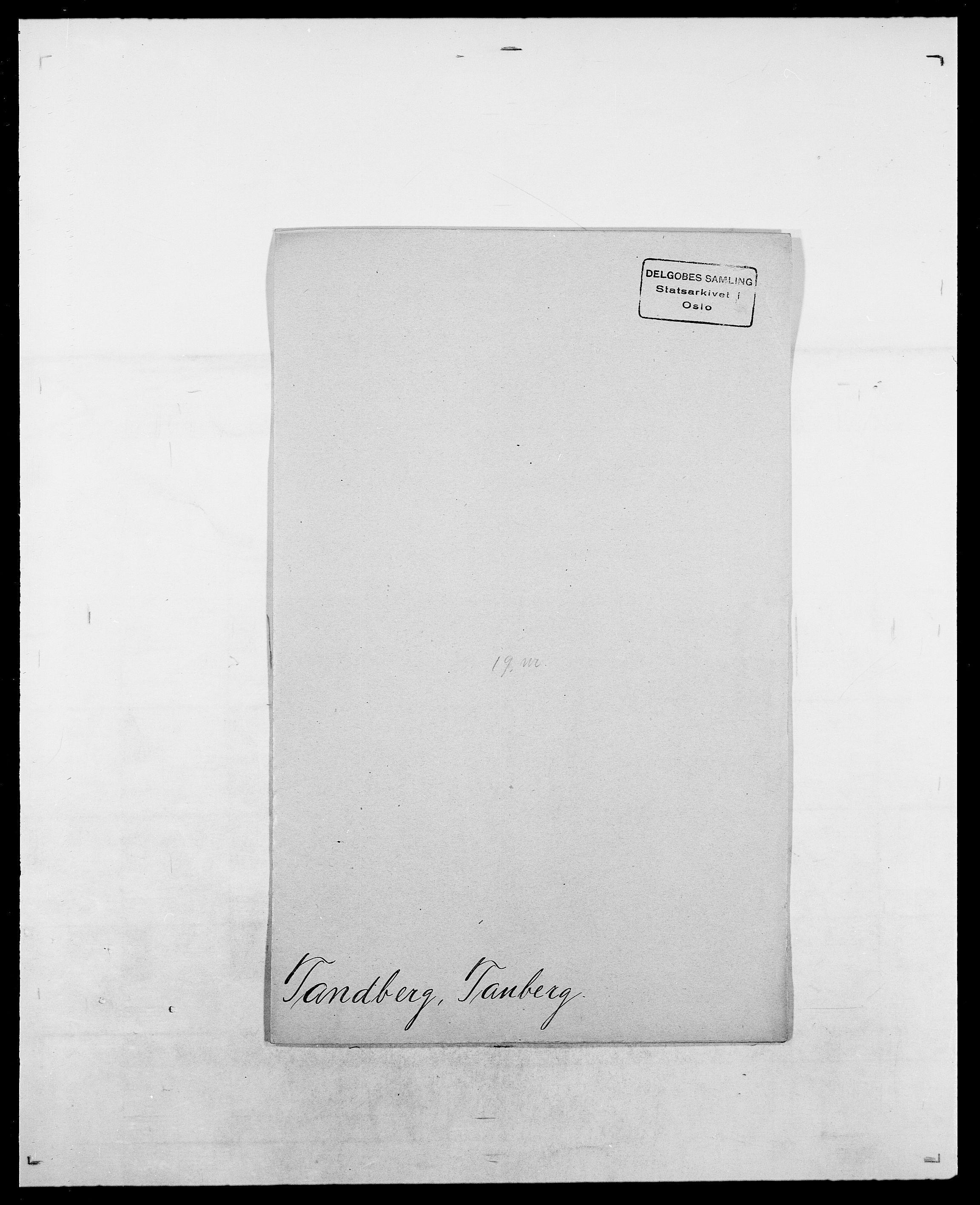 SAO, Delgobe, Charles Antoine - samling, D/Da/L0038: Svanenskjold - Thornsohn, s. 282