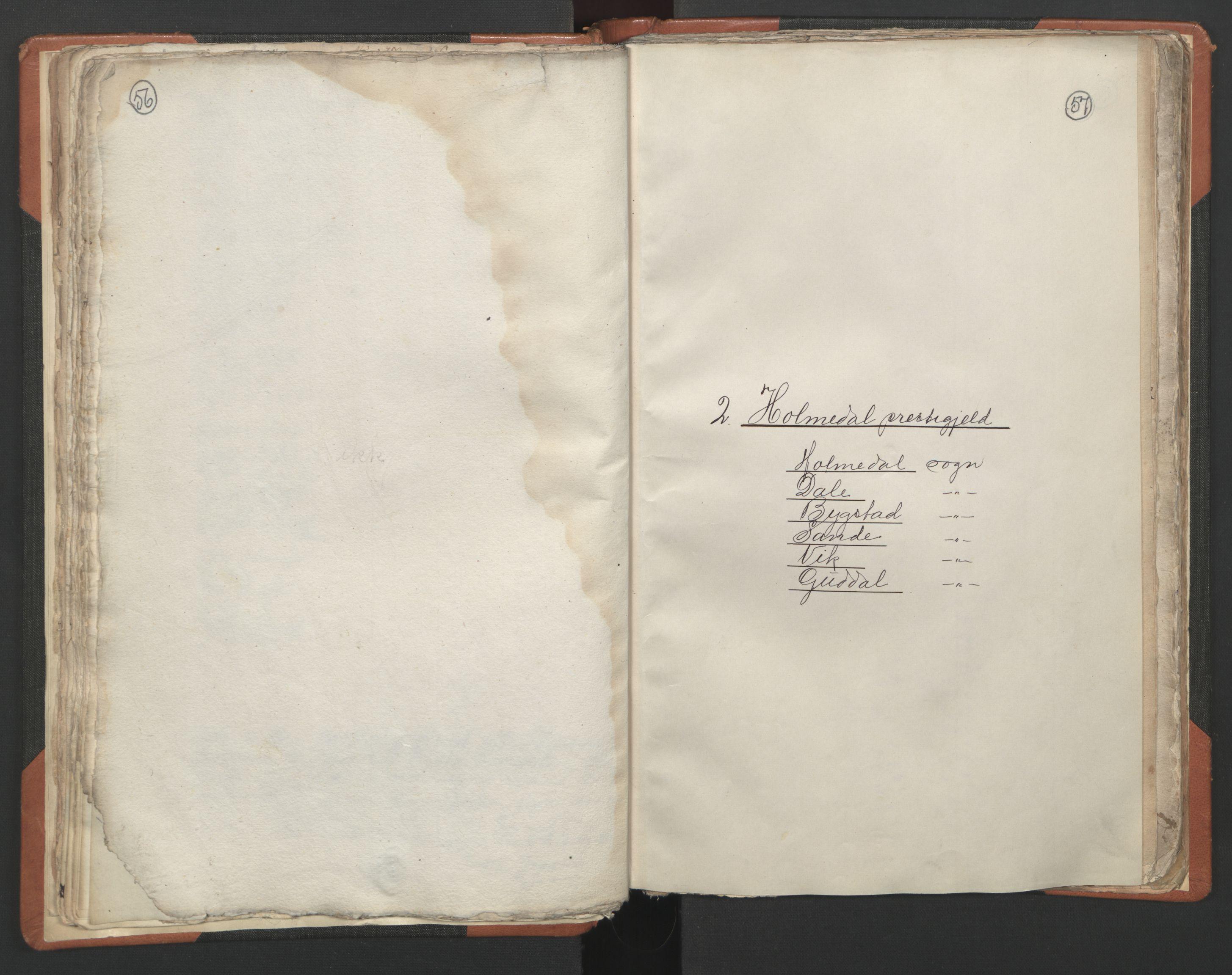 RA, Sogneprestenes manntall 1664-1666, nr. 24: Sunnfjord prosti, 1664-1666, s. 56-57
