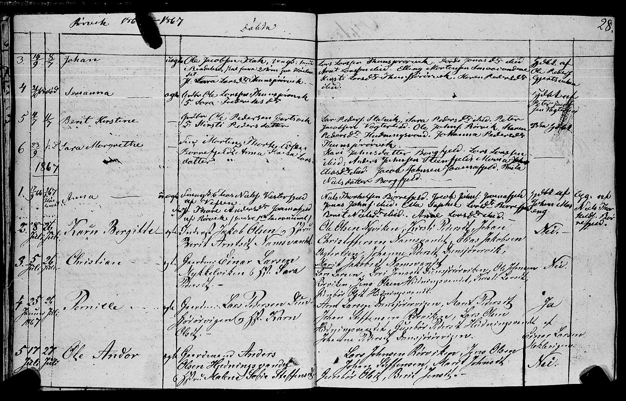 SAT, Ministerialprotokoller, klokkerbøker og fødselsregistre - Nord-Trøndelag, 762/L0538: Ministerialbok nr. 762A02 /1, 1833-1879, s. 28