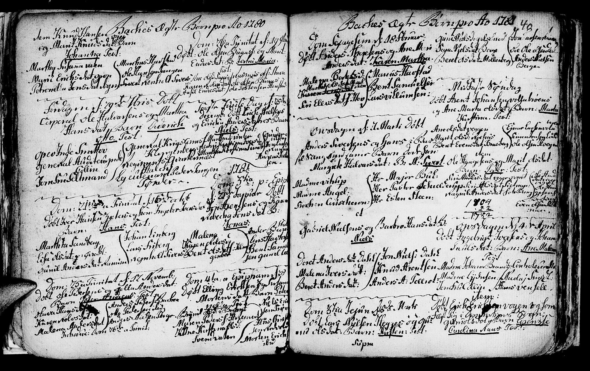 SAT, Ministerialprotokoller, klokkerbøker og fødselsregistre - Sør-Trøndelag, 604/L0218: Klokkerbok nr. 604C01, 1754-1819, s. 40