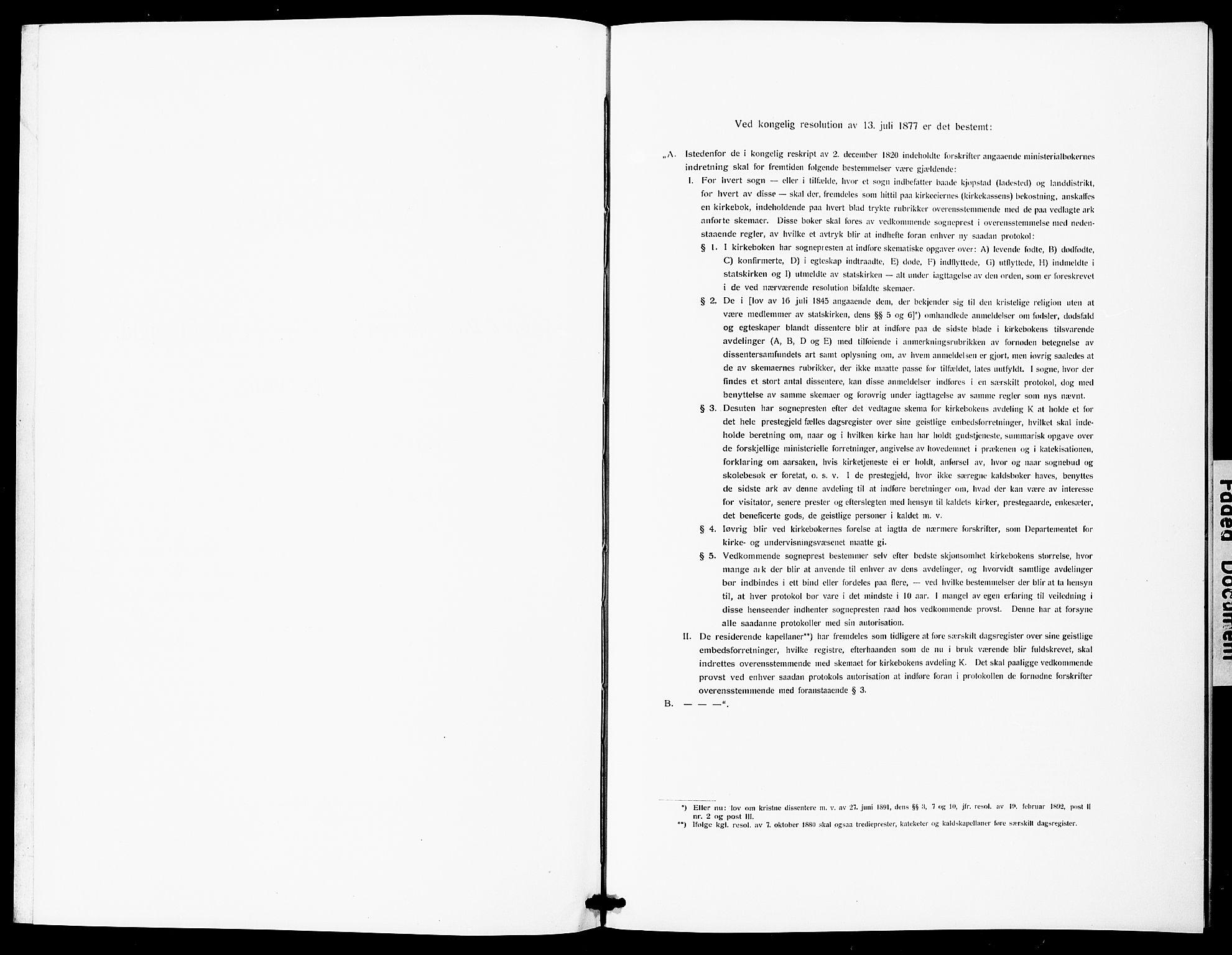 SAT, Ministerialprotokoller, klokkerbøker og fødselsregistre - Sør-Trøndelag, 600/L0001: Ministerialbok nr. 600A01, 1911-1918