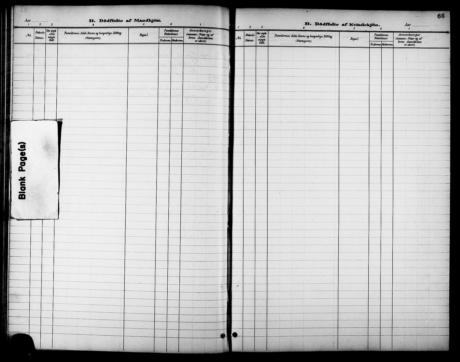 SAT, Ministerialprotokoller, klokkerbøker og fødselsregistre - Sør-Trøndelag, 621/L0460: Klokkerbok nr. 621C03, 1896-1914, s. 66