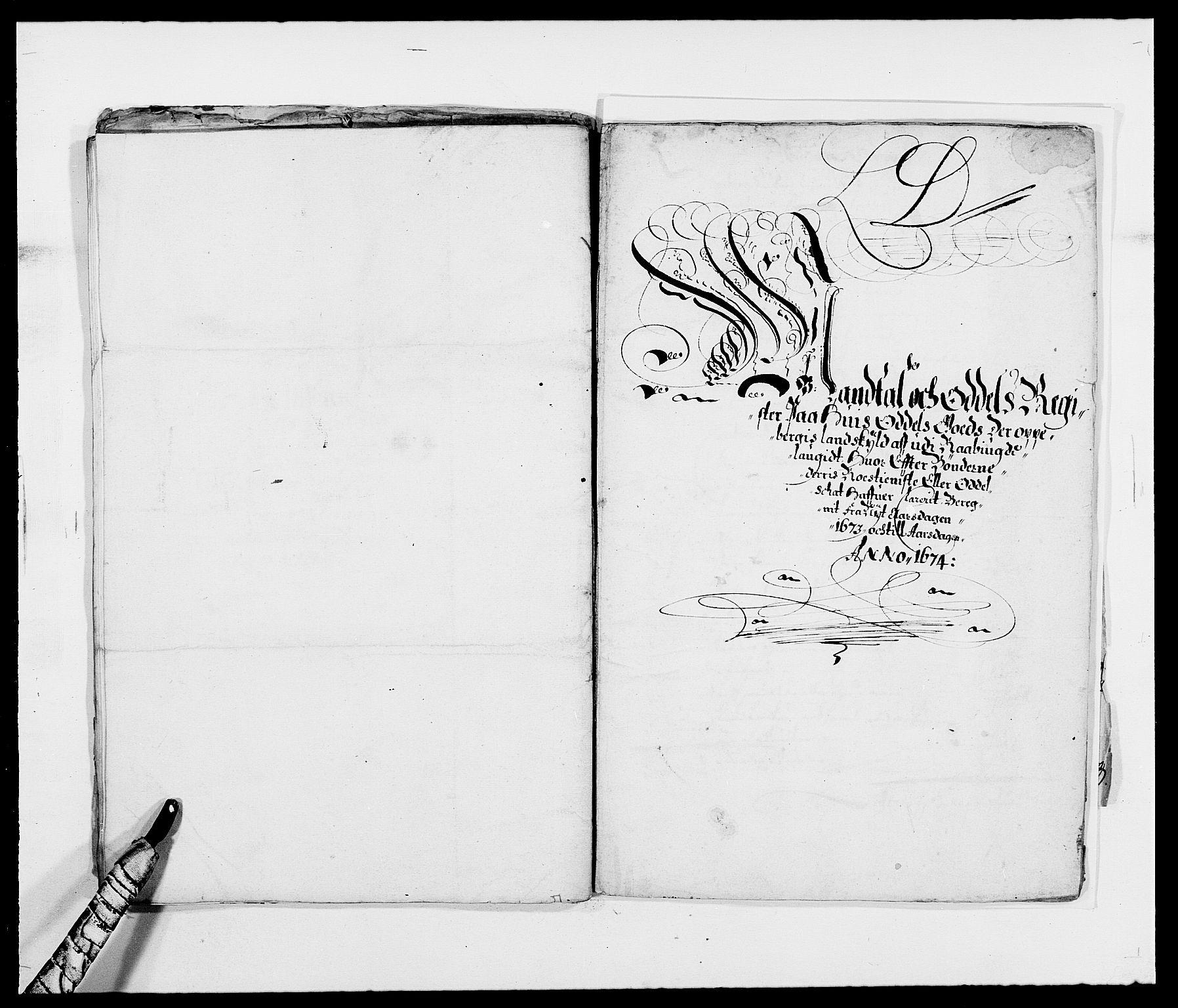 RA, Rentekammeret inntil 1814, Reviderte regnskaper, Fogderegnskap, R40/L2433: Fogderegnskap Råbyggelag, 1671-1674, s. 196