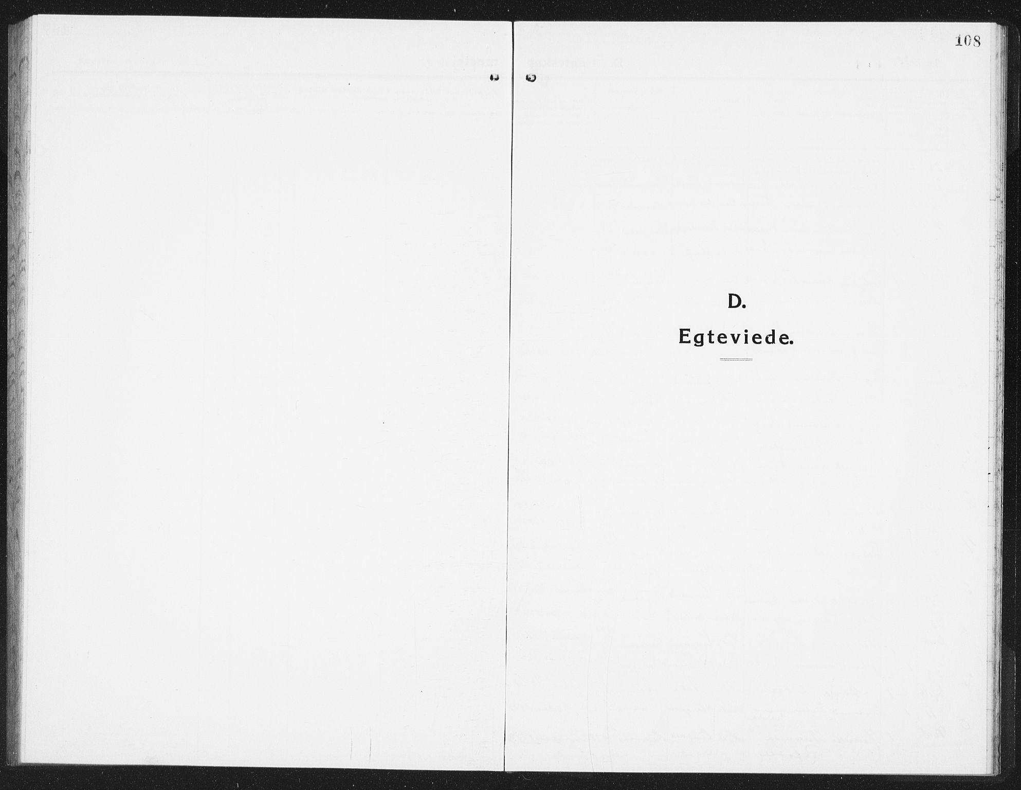 SAST, Kopervik sokneprestkontor, H/Ha/Hab/L0007: Klokkerbok nr. B 7, 1918-1942, s. 108