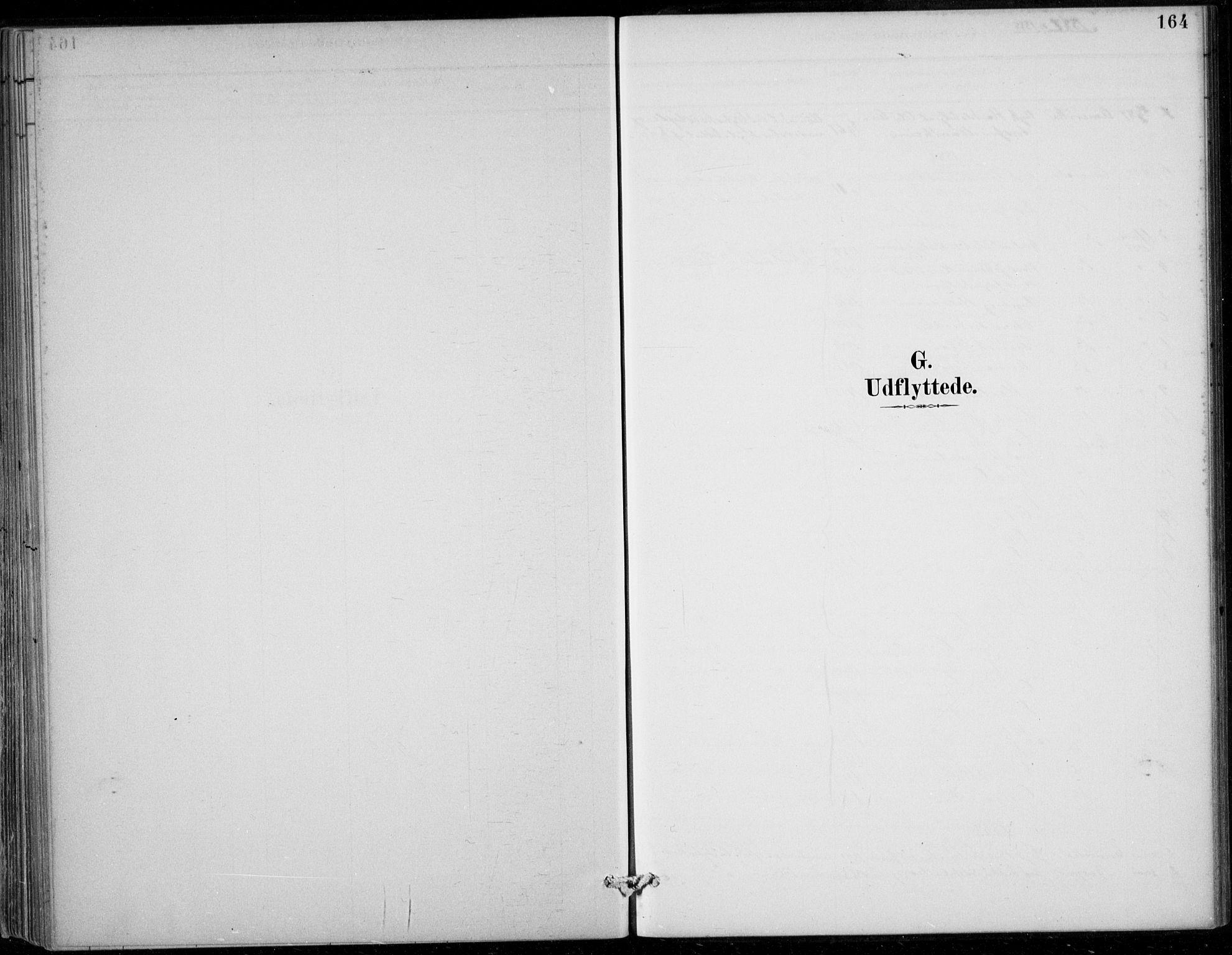SAB, Strandebarm sokneprestembete, H/Haa: Ministerialbok nr. D  1, 1886-1912, s. 164