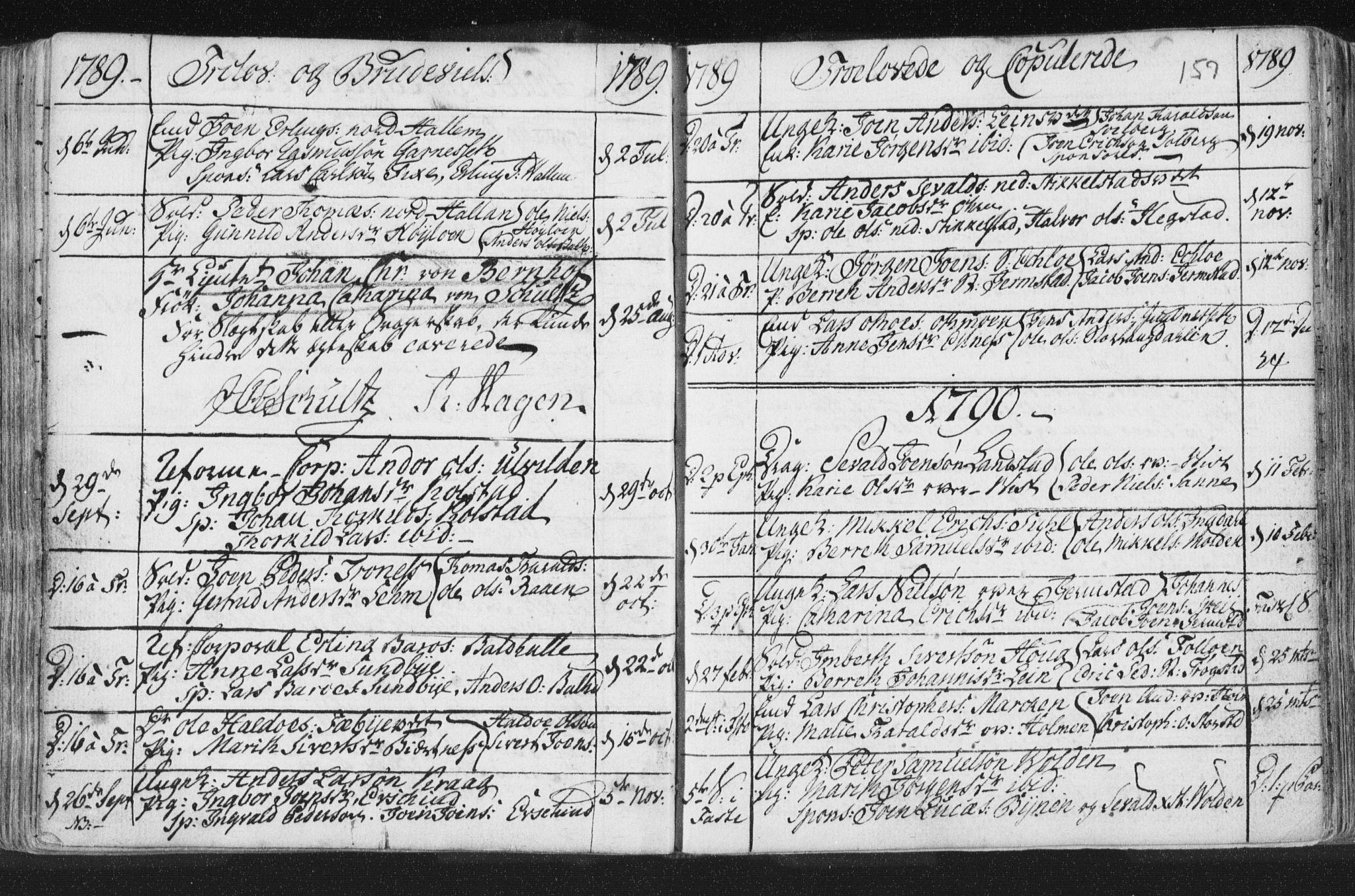 SAT, Ministerialprotokoller, klokkerbøker og fødselsregistre - Nord-Trøndelag, 723/L0232: Ministerialbok nr. 723A03, 1781-1804, s. 157