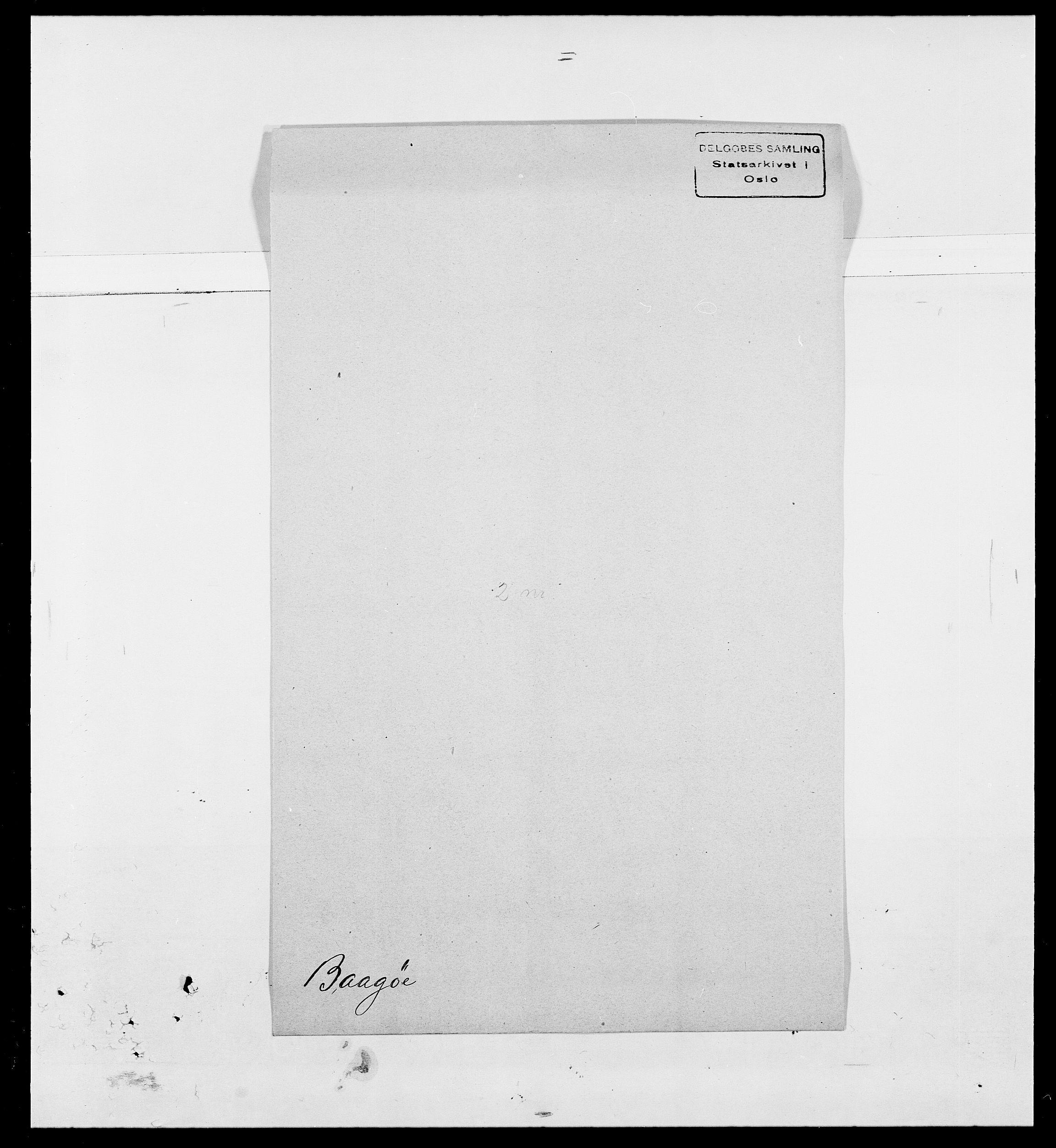 SAO, Delgobe, Charles Antoine - samling, D/Da/L0002: Anker, Ancher - Bauner, s. 551