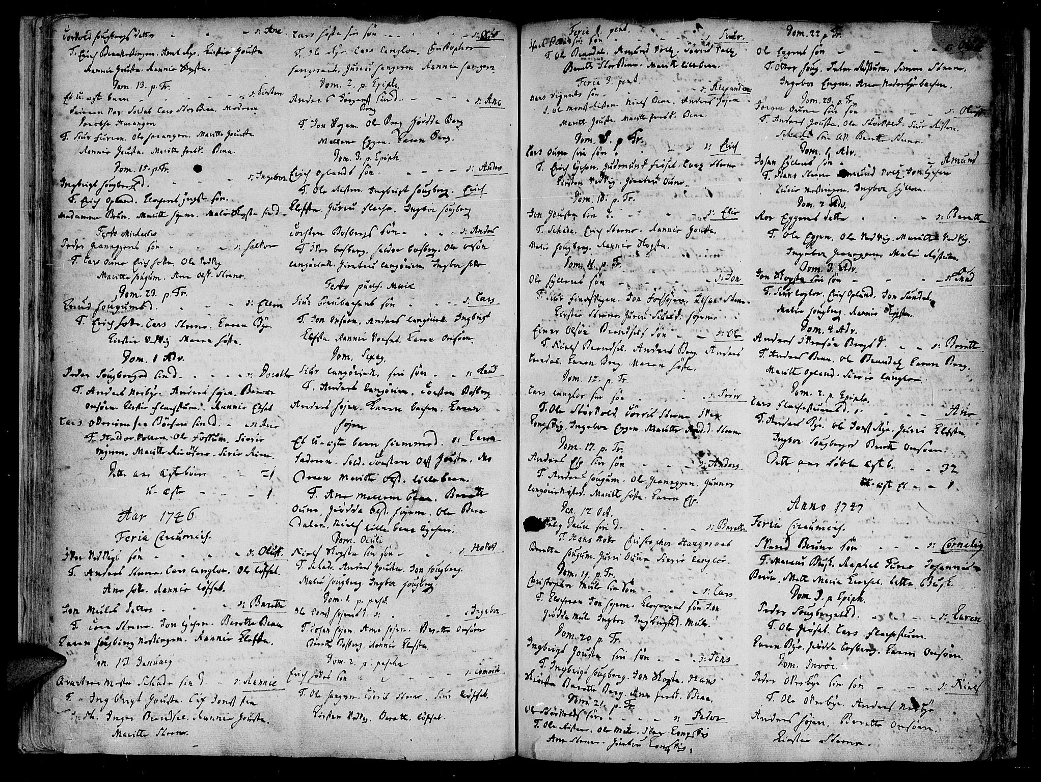 SAT, Ministerialprotokoller, klokkerbøker og fødselsregistre - Sør-Trøndelag, 612/L0368: Ministerialbok nr. 612A02, 1702-1753, s. 37