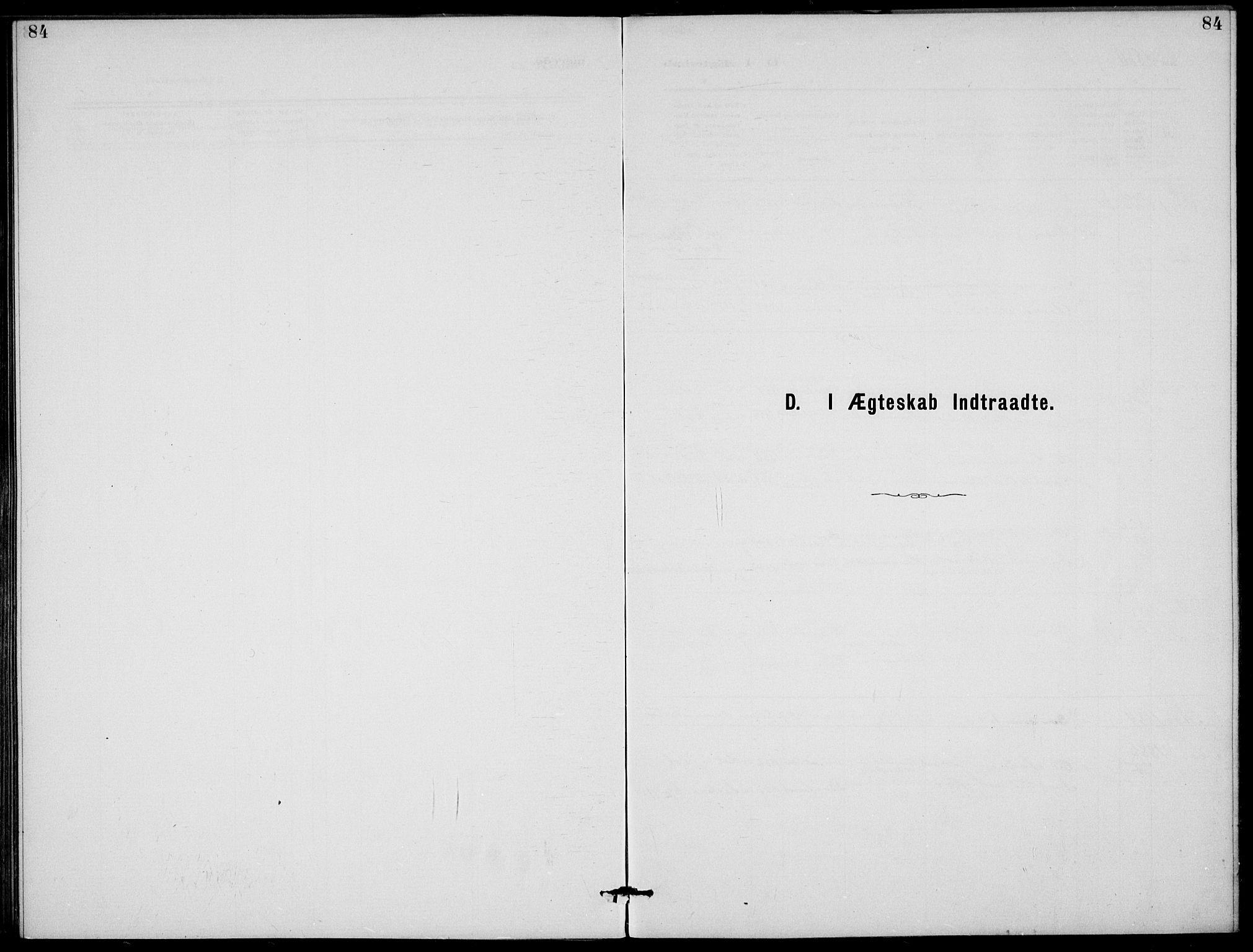 SAKO, Rjukan kirkebøker, G/Ga/L0001: Klokkerbok nr. 1, 1880-1914, s. 84