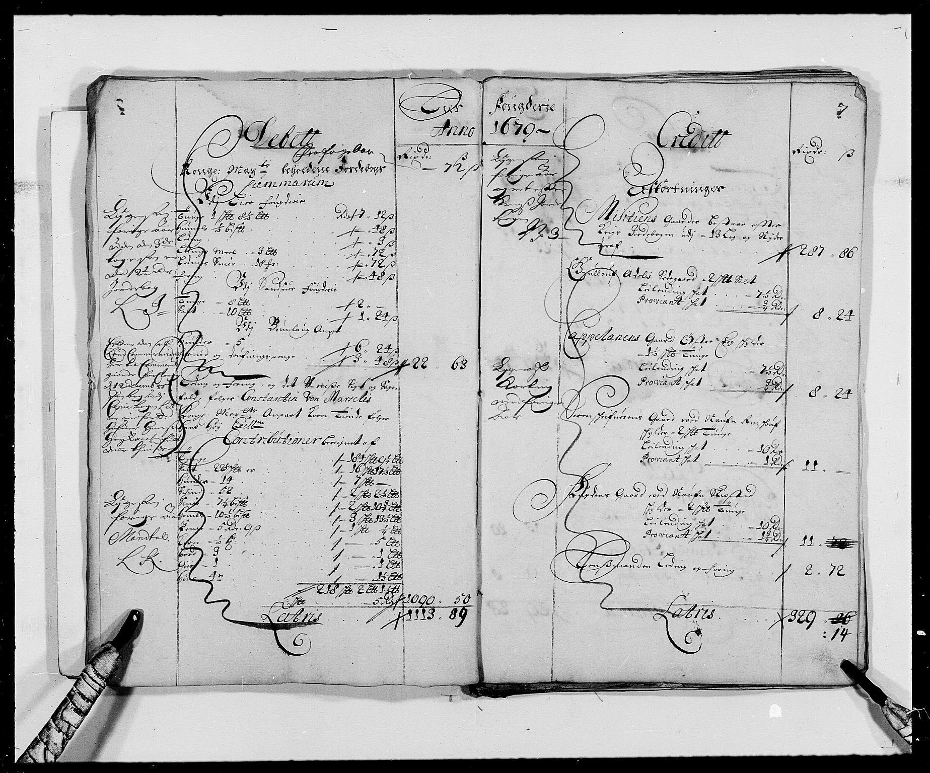 RA, Rentekammeret inntil 1814, Reviderte regnskaper, Fogderegnskap, R27/L1686: Fogderegnskap Lier, 1678-1686, s. 9