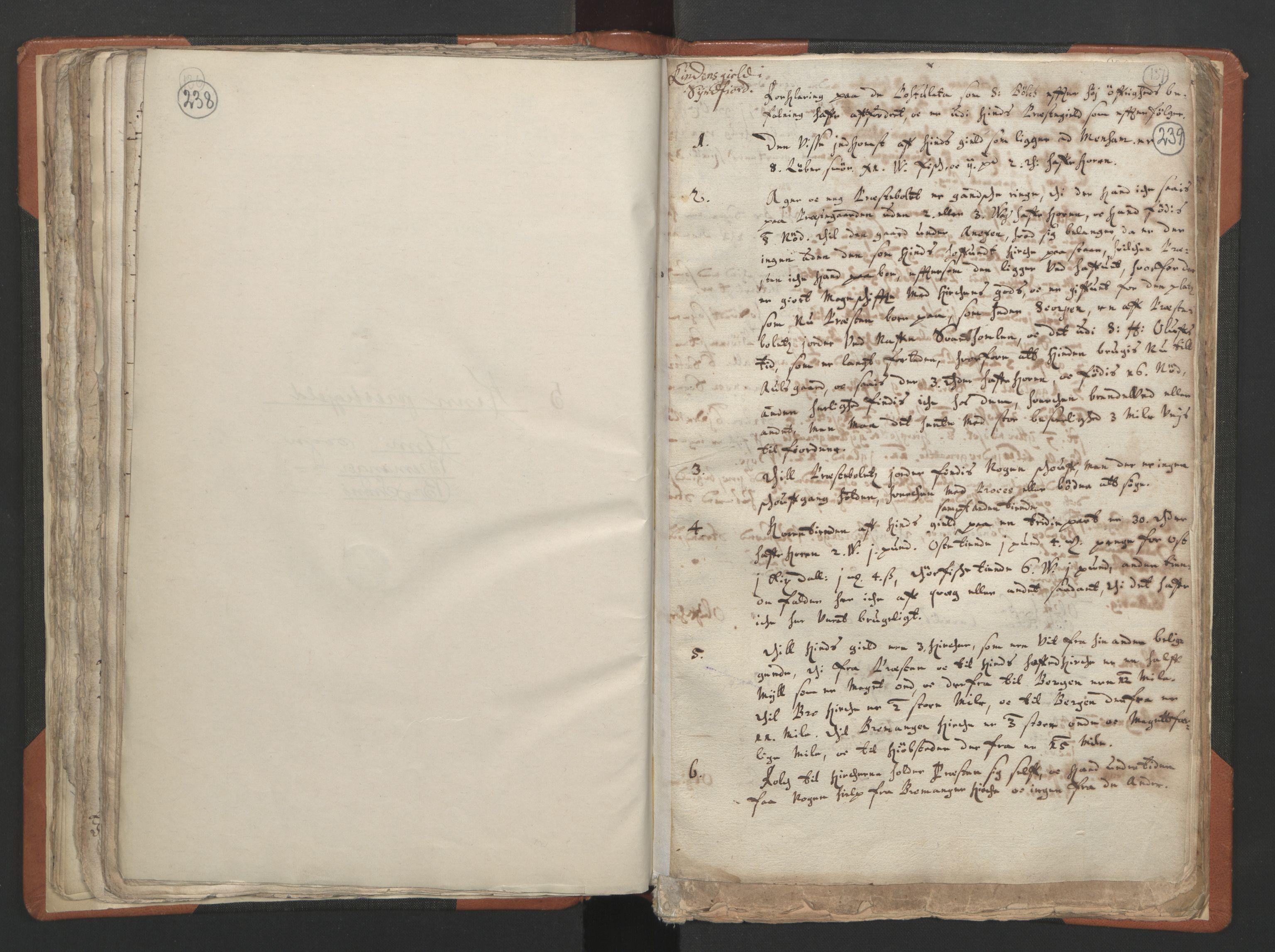 RA, Sogneprestenes manntall 1664-1666, nr. 24: Sunnfjord prosti, 1664-1666, s. 238-239
