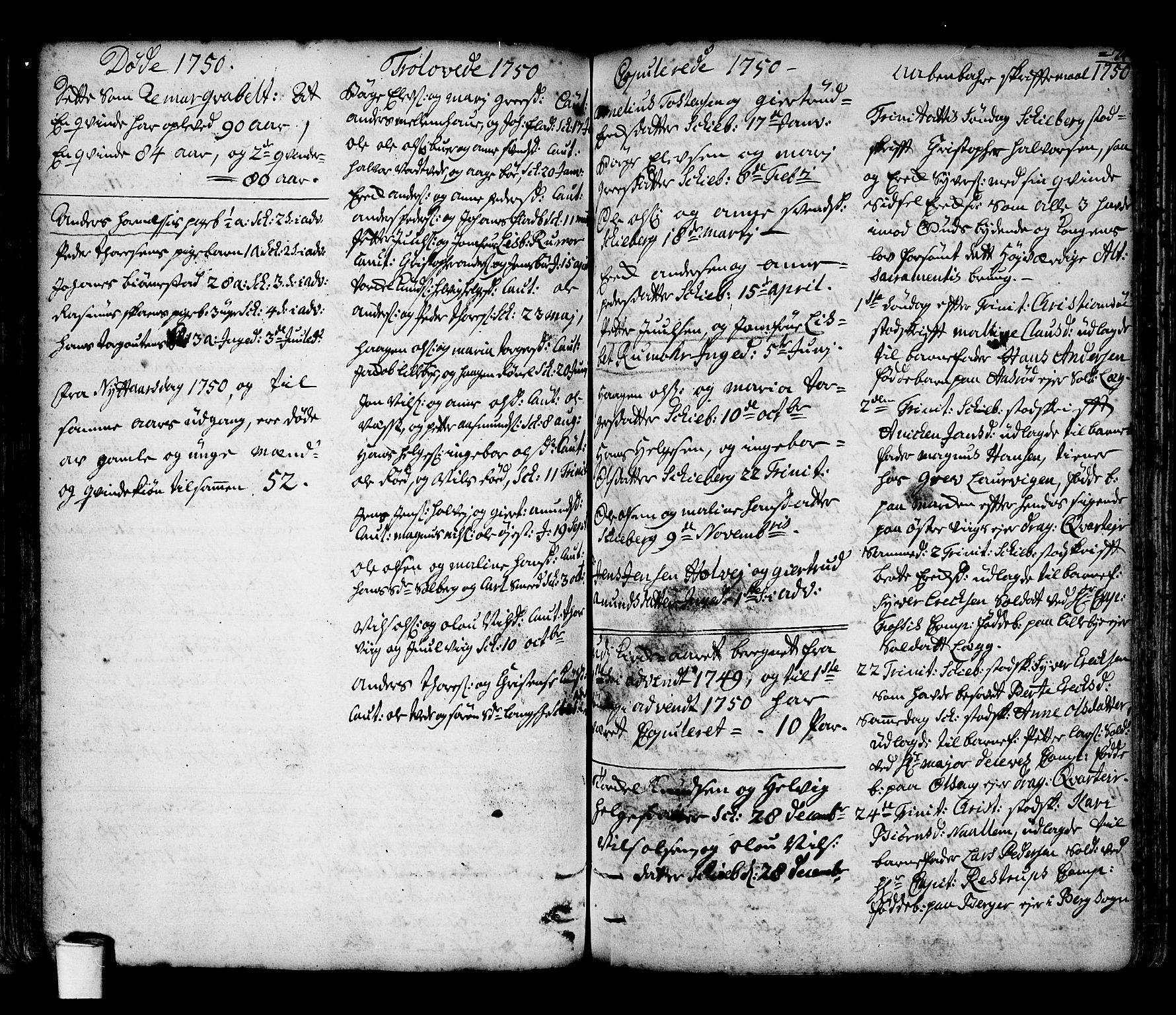 SAO, Skjeberg prestekontor Kirkebøker, F/Fa/L0002: Ministerialbok nr. I 2, 1726-1791, s. 74