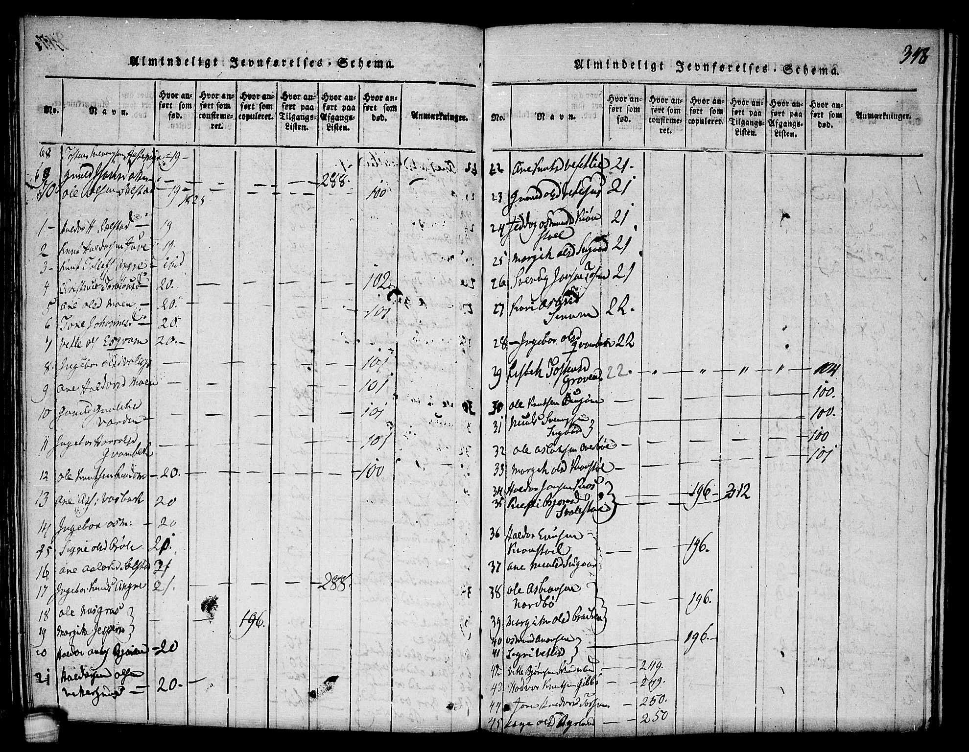 SAKO, Seljord kirkebøker, F/Fc/L0001: Ministerialbok nr. III 1, 1815-1831, s. 348