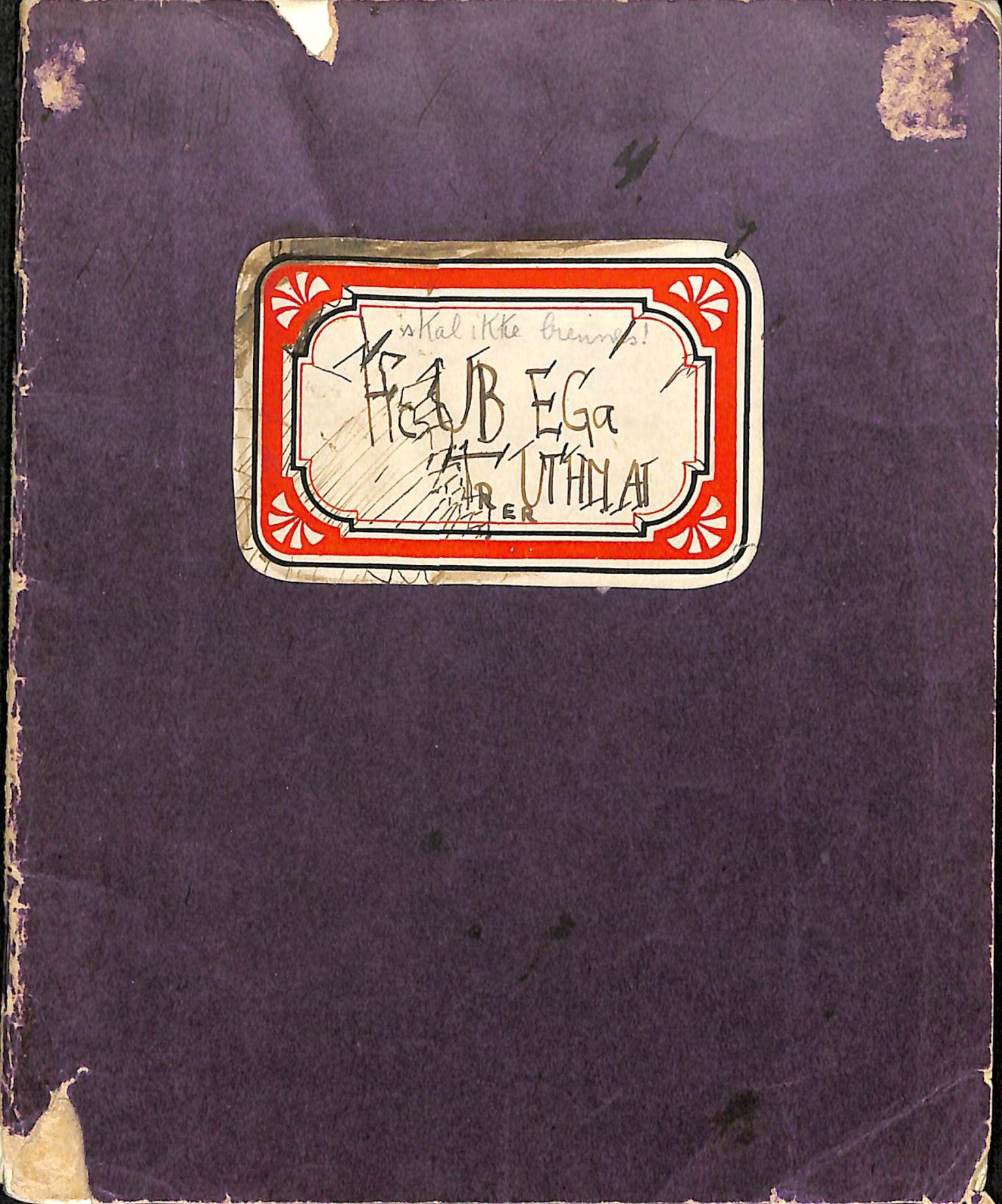 HL, Maier, Ruth, G, 1938