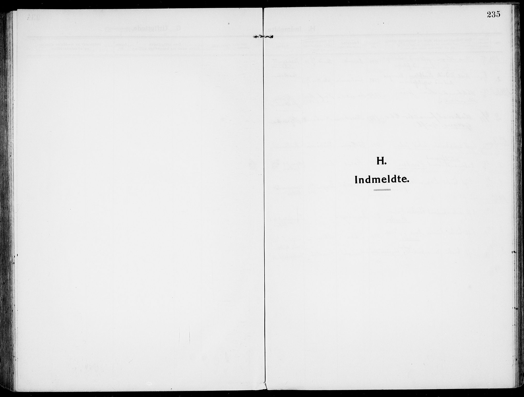 SAKO, Rjukan kirkebøker, F/Fa/L0002: Ministerialbok nr. 2, 1912-1917, s. 235