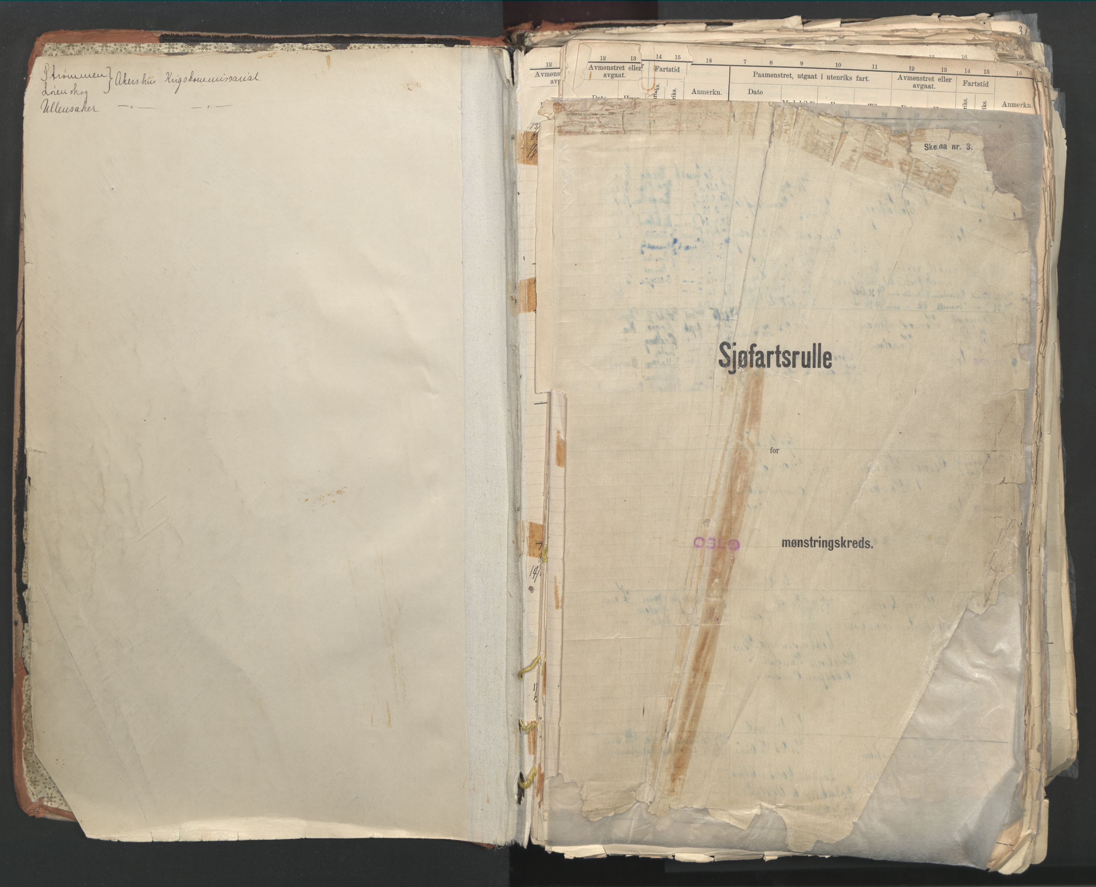 SAO, Oslo sjømannskontor, F/Fd/L0003: B-rulle, 1916, s. upaginert