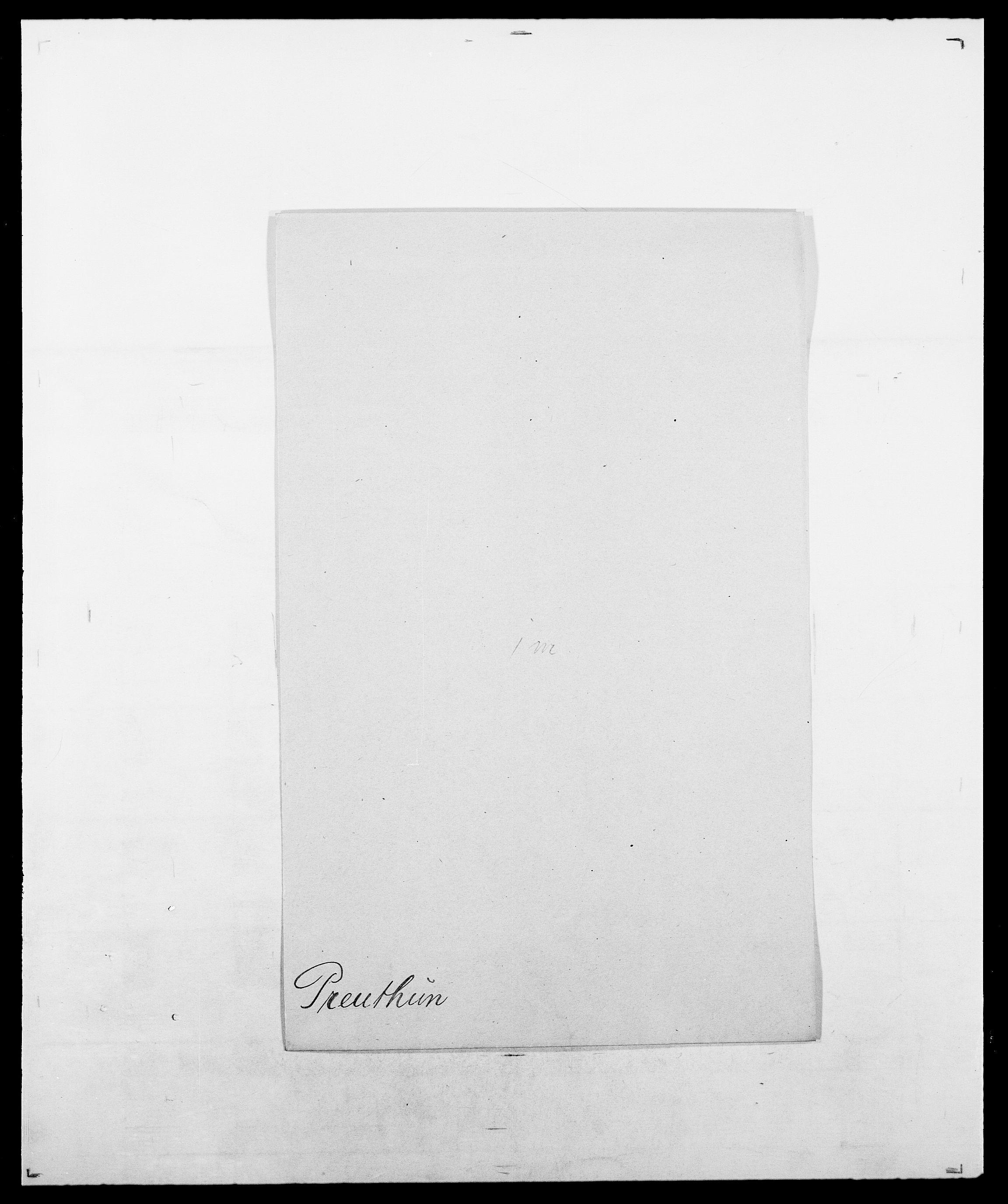 SAO, Delgobe, Charles Antoine - samling, D/Da/L0031: de Place - Raaum, s. 331