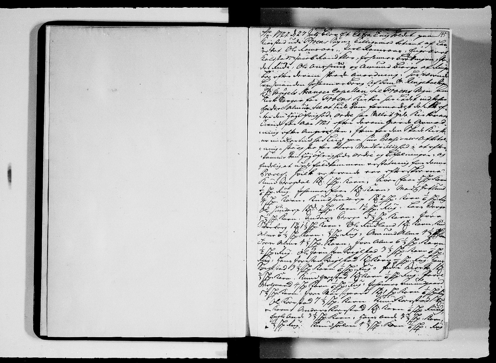 SAH, Sorenskriverier i Gudbrandsdalen, G/Gb/Gbc/L0008: Tingbok - Nord- og Sør-Gudbrandsdal, 1722-1725, s. 144b-145a