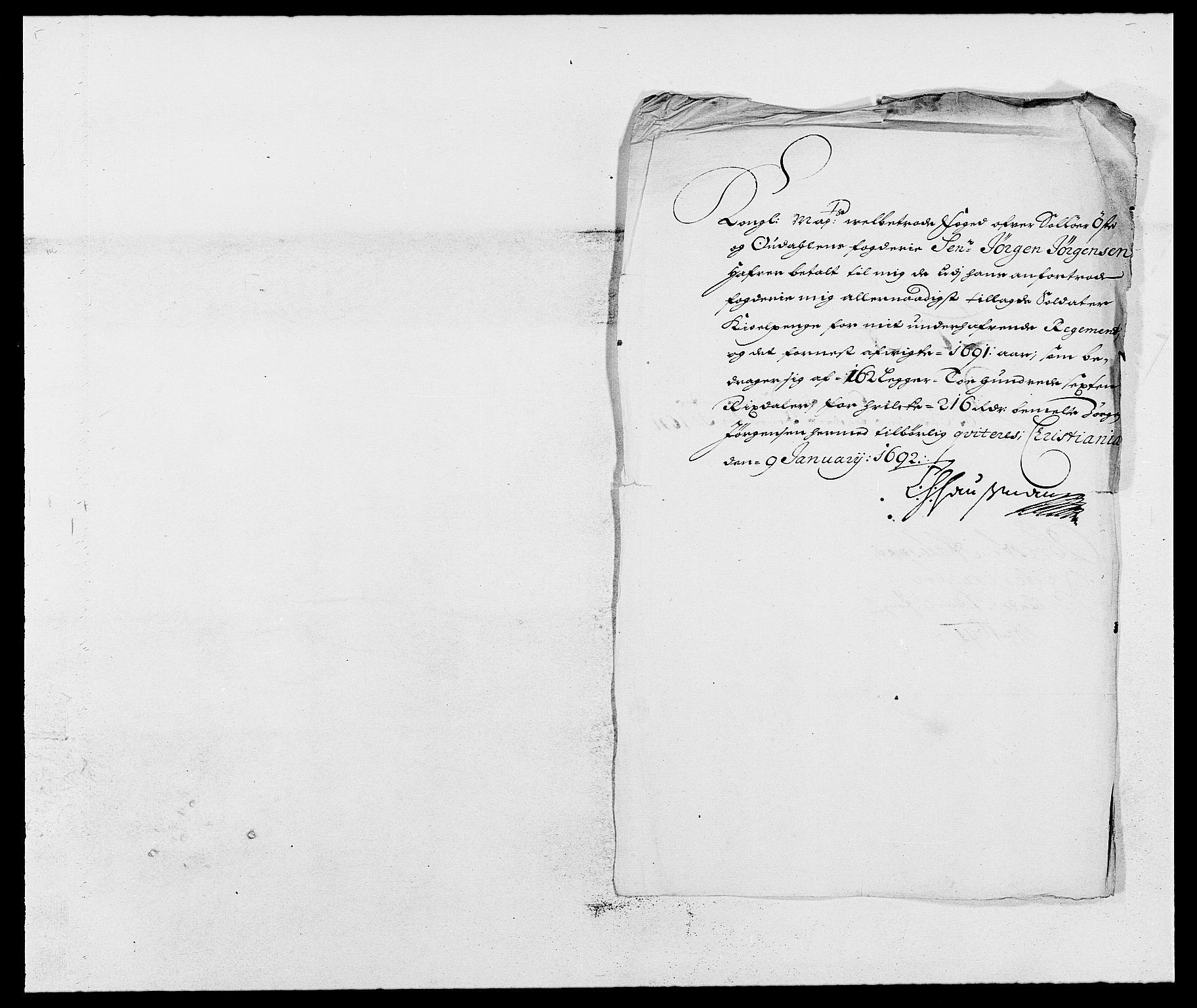 RA, Rentekammeret inntil 1814, Reviderte regnskaper, Fogderegnskap, R13/L0829: Fogderegnskap Solør, Odal og Østerdal, 1691, s. 28