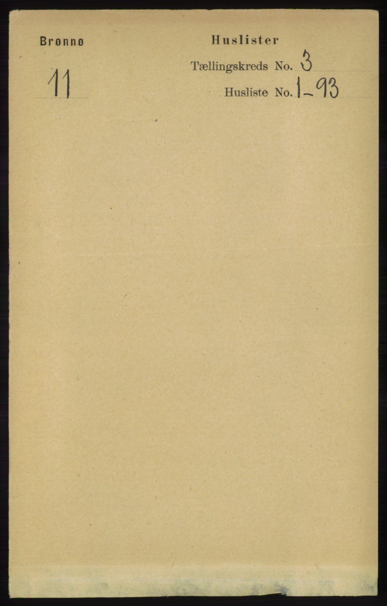 RA, Folketelling 1891 for 1814 Brønnøy herred, 1891, s. 1194