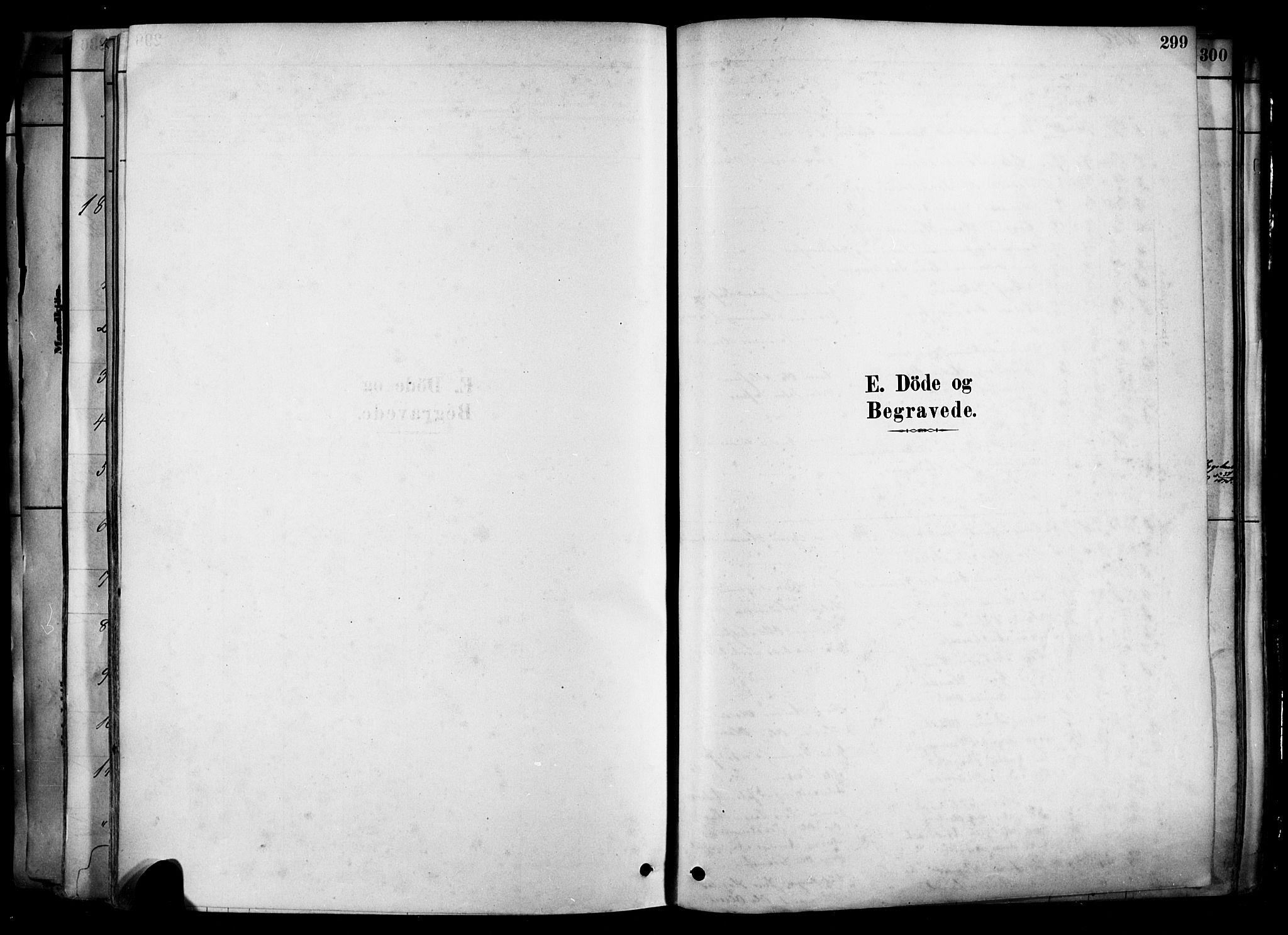 SAKO, Heddal kirkebøker, F/Fa/L0008: Ministerialbok nr. I 8, 1878-1903, s. 299