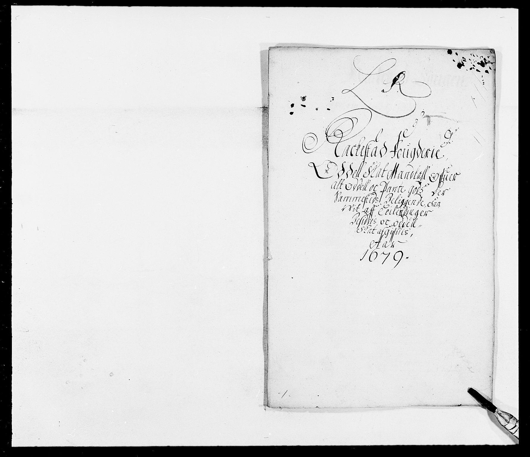 RA, Rentekammeret inntil 1814, Reviderte regnskaper, Fogderegnskap, R05/L0271: Fogderegnskap Rakkestad, 1678-1679, s. 390