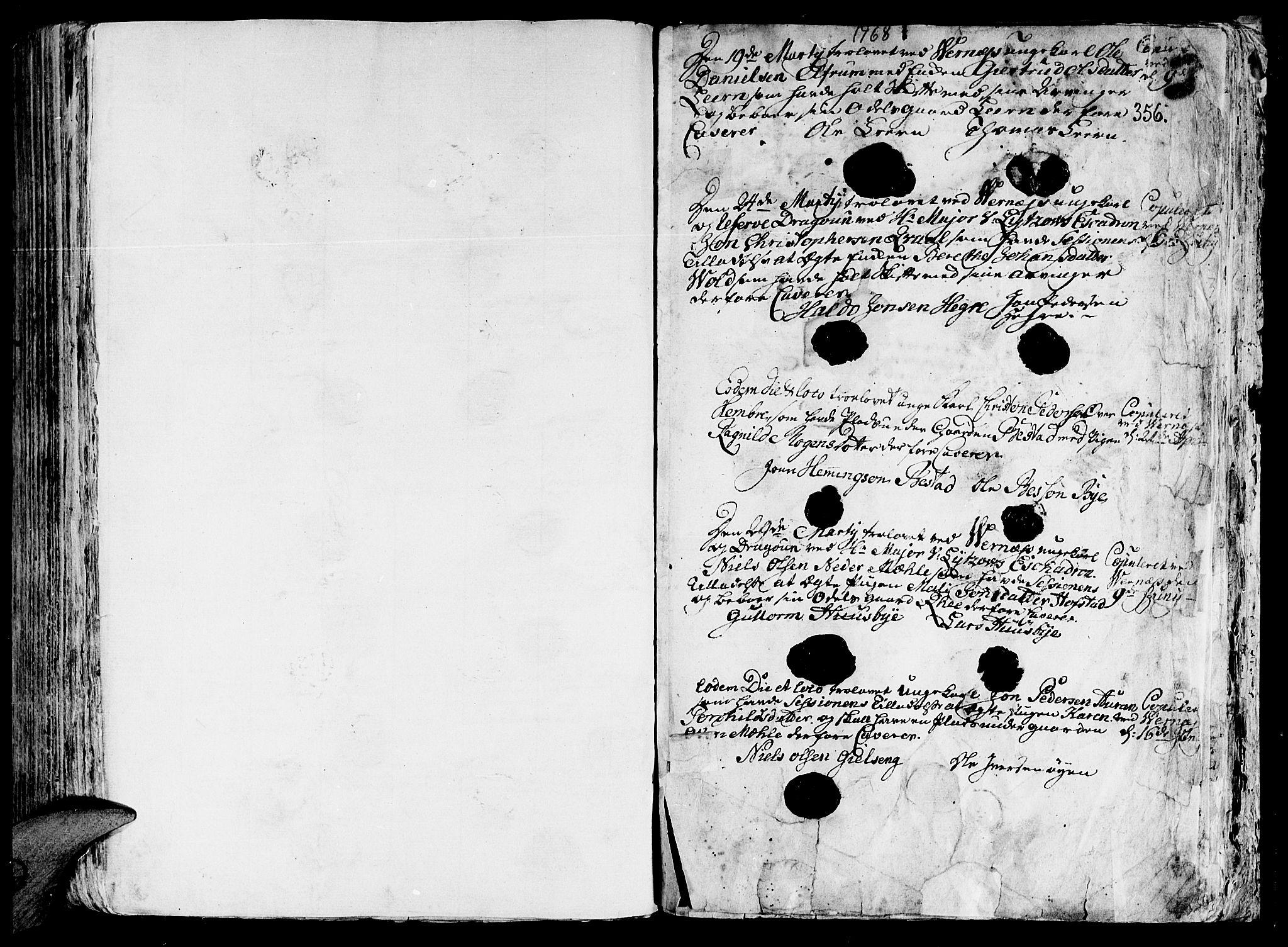 SAT, Ministerialprotokoller, klokkerbøker og fødselsregistre - Nord-Trøndelag, 709/L0057: Ministerialbok nr. 709A05, 1755-1780, s. 356