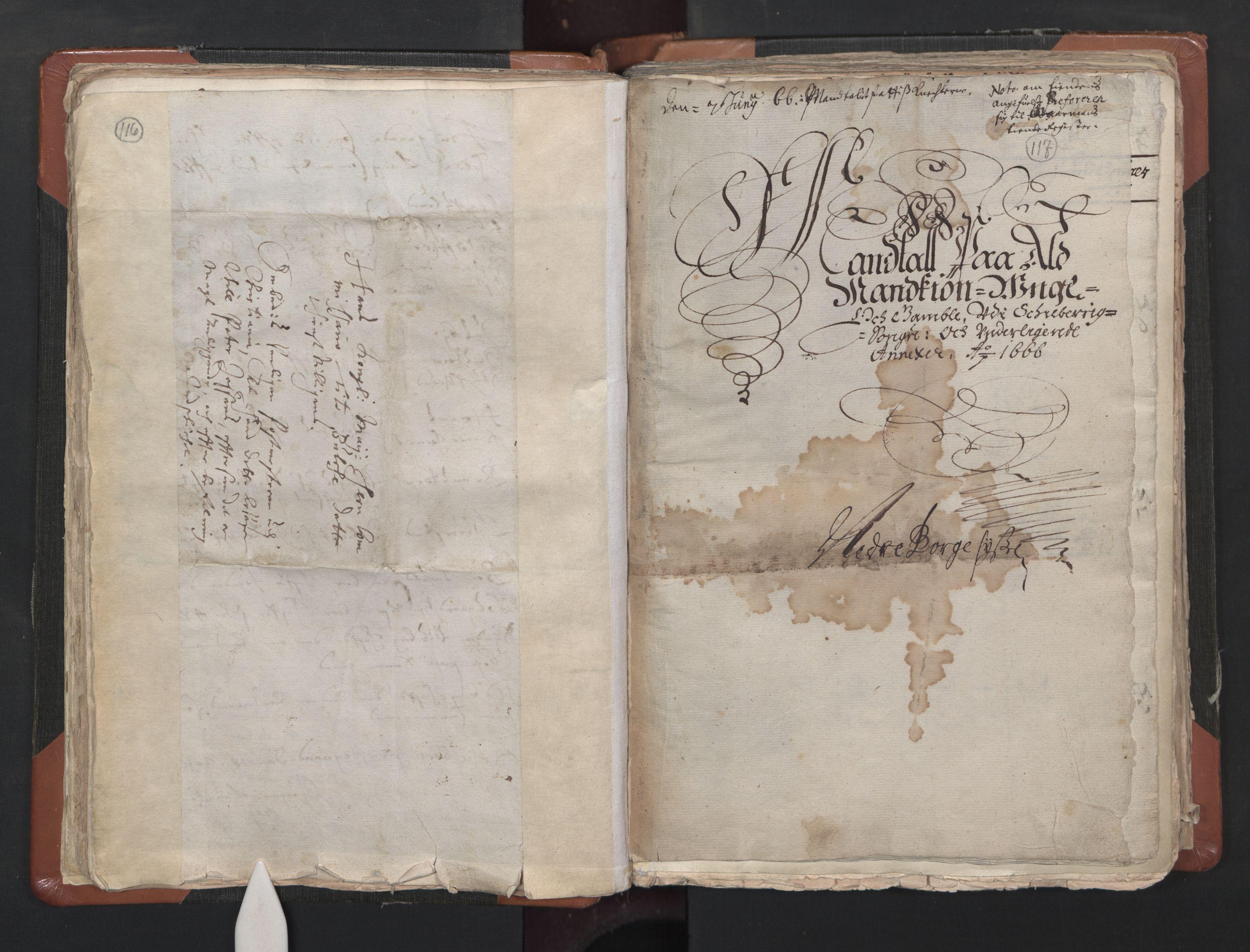 RA, Sogneprestenes manntall 1664-1666, nr. 1: Nedre Borgesyssel prosti, 1664-1666, s. 116-117