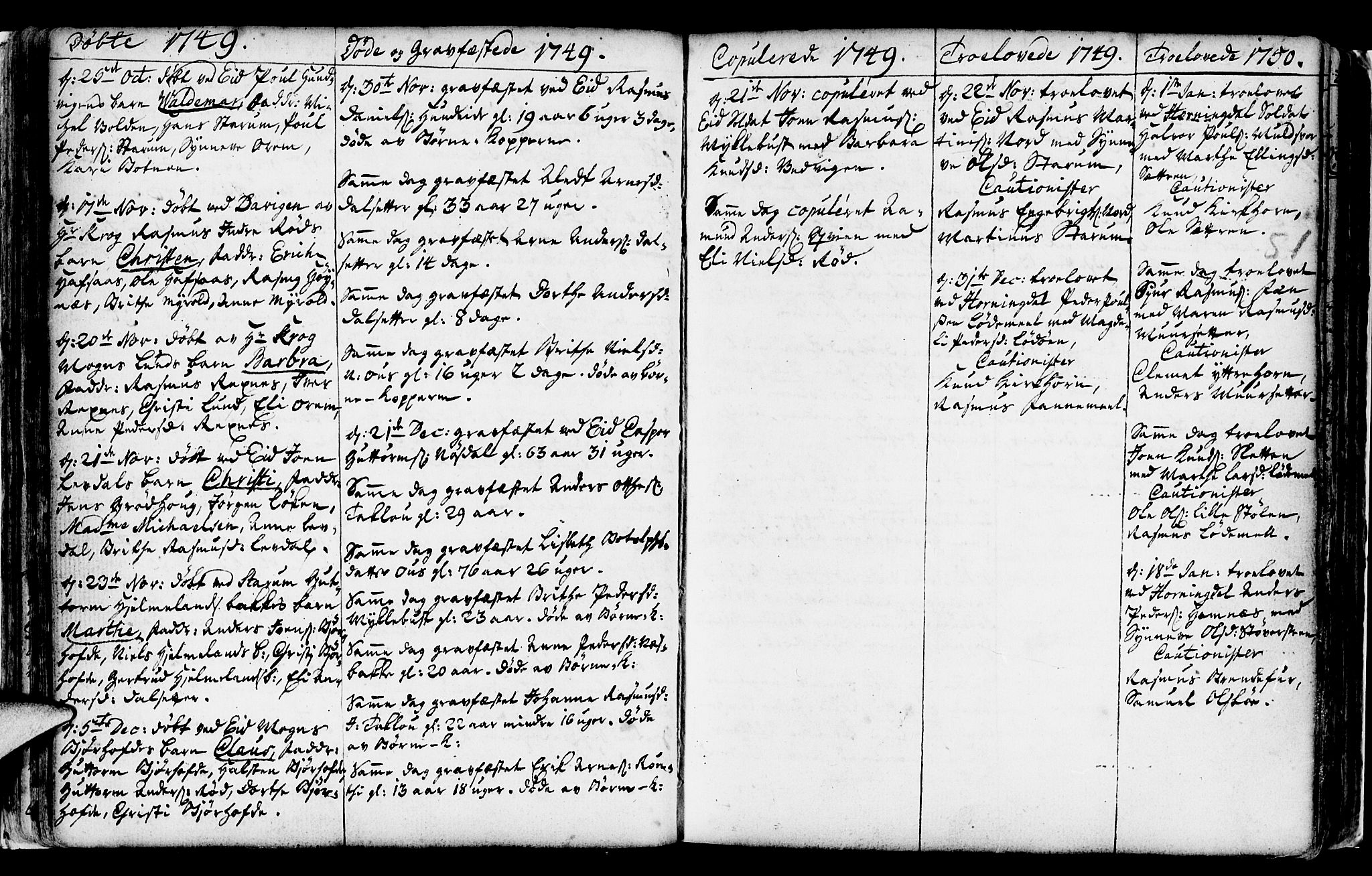 SAB, Eid Sokneprestembete, H/Haa: Ministerialbok nr. A 2, 1741-1769, s. 51