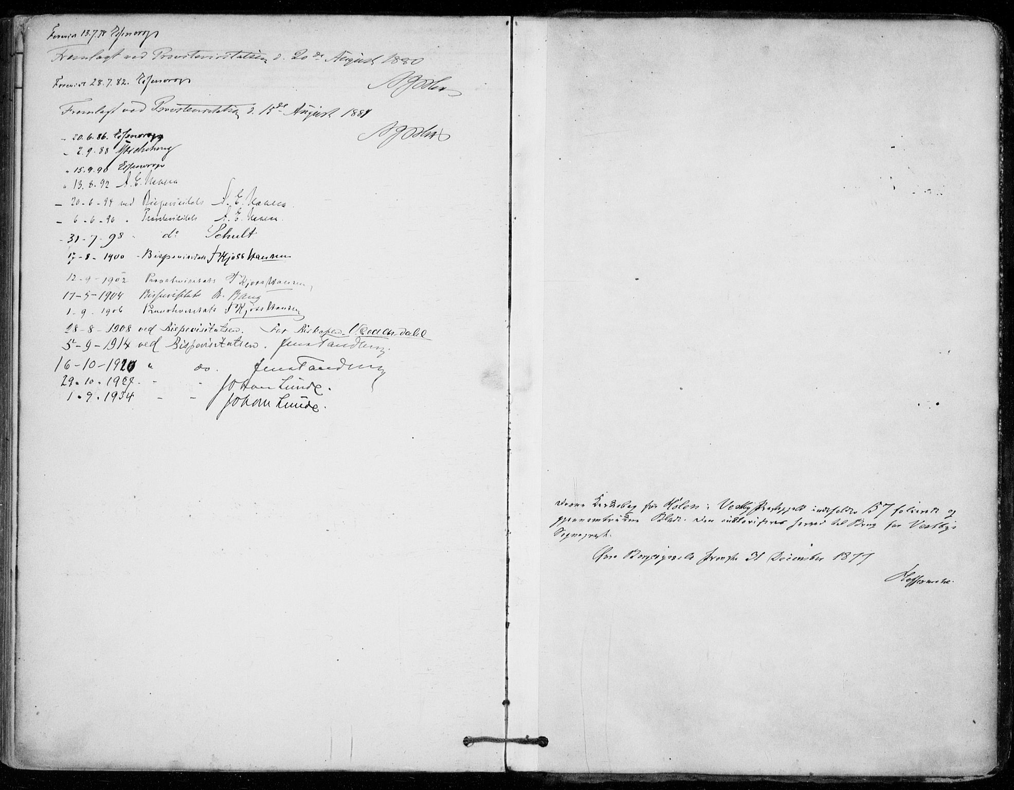 SAO, Vestby prestekontor Kirkebøker, F/Fe/L0001: Ministerialbok nr. V 1, 1878-1931
