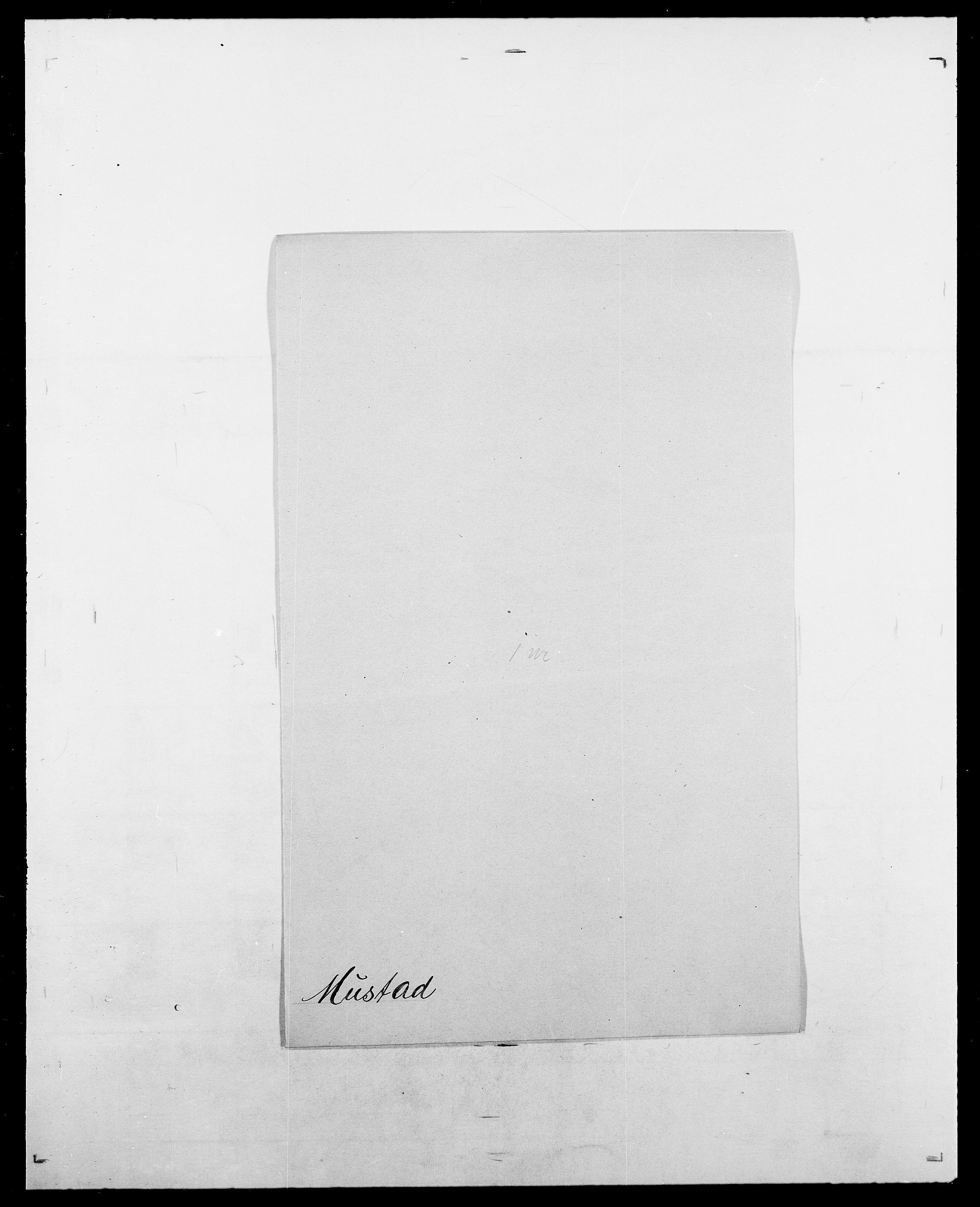 SAO, Delgobe, Charles Antoine - samling, D/Da/L0027: Morath - v. Møsting, s. 277