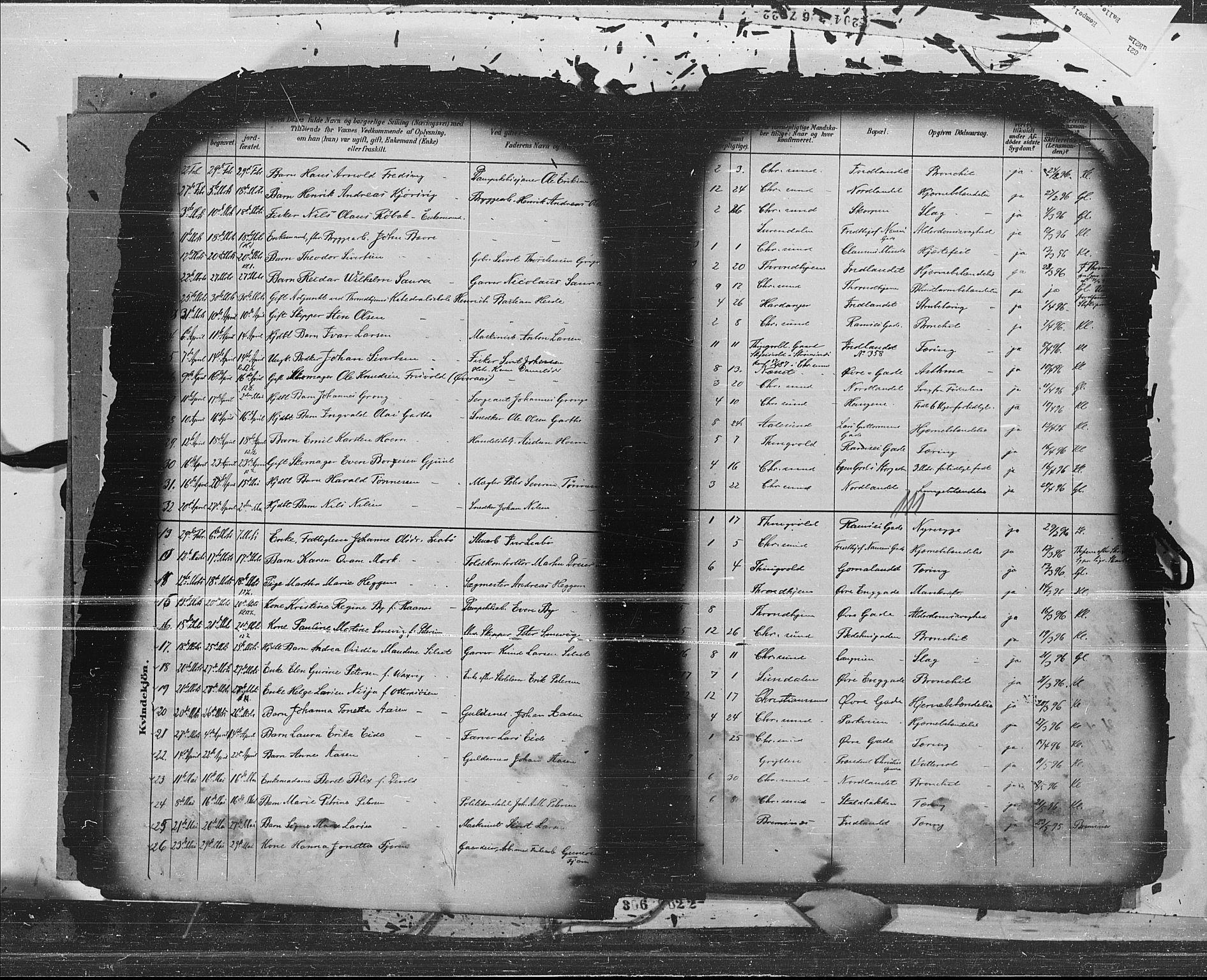 SAT, Ministerialprotokoller, klokkerbøker og fødselsregistre - Møre og Romsdal, 572/L0853: Ministerialbok nr. 572A16, 1880-1901, s. 111