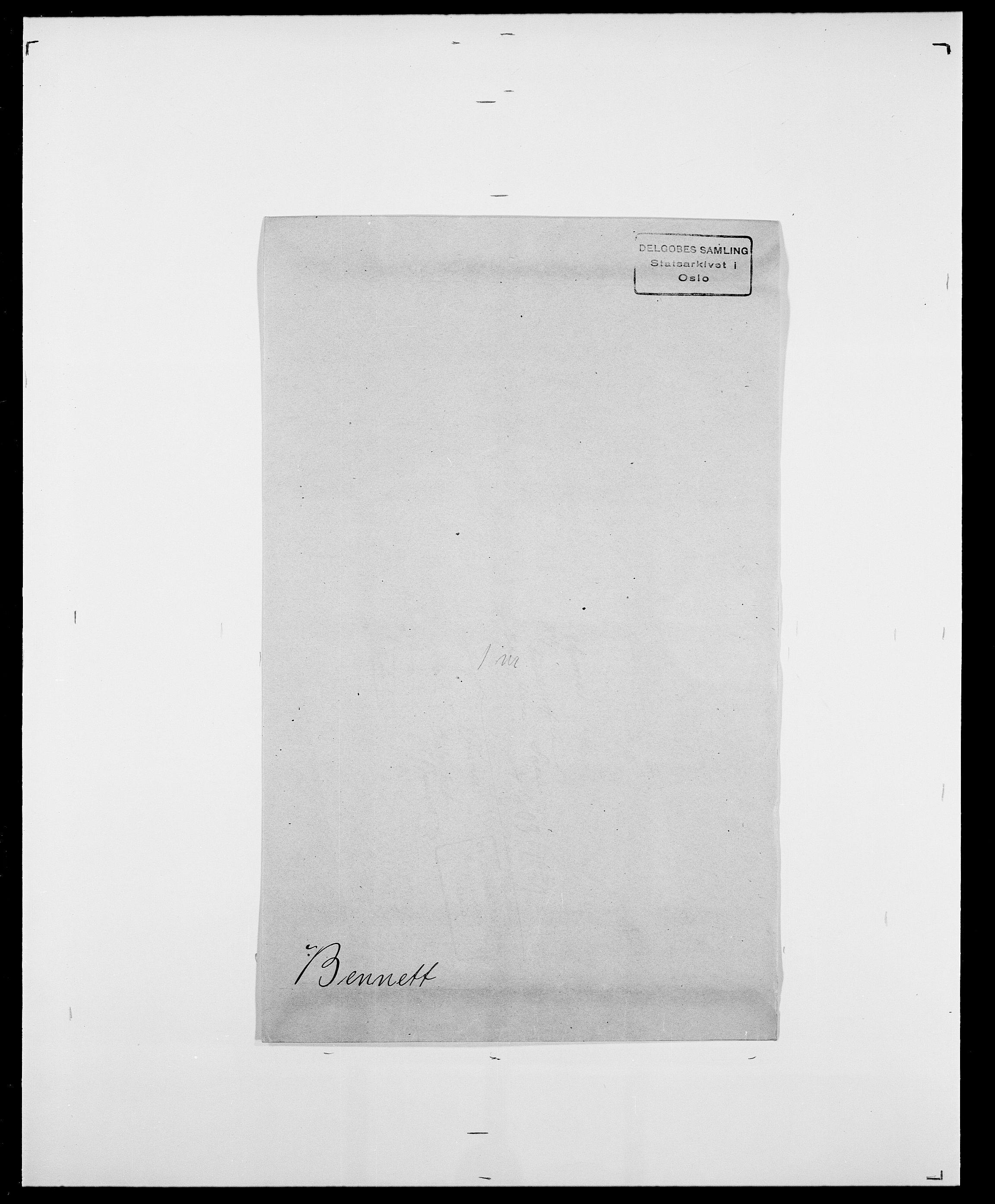 SAO, Delgobe, Charles Antoine - samling, D/Da/L0003: Barca - Bergen, s. 780