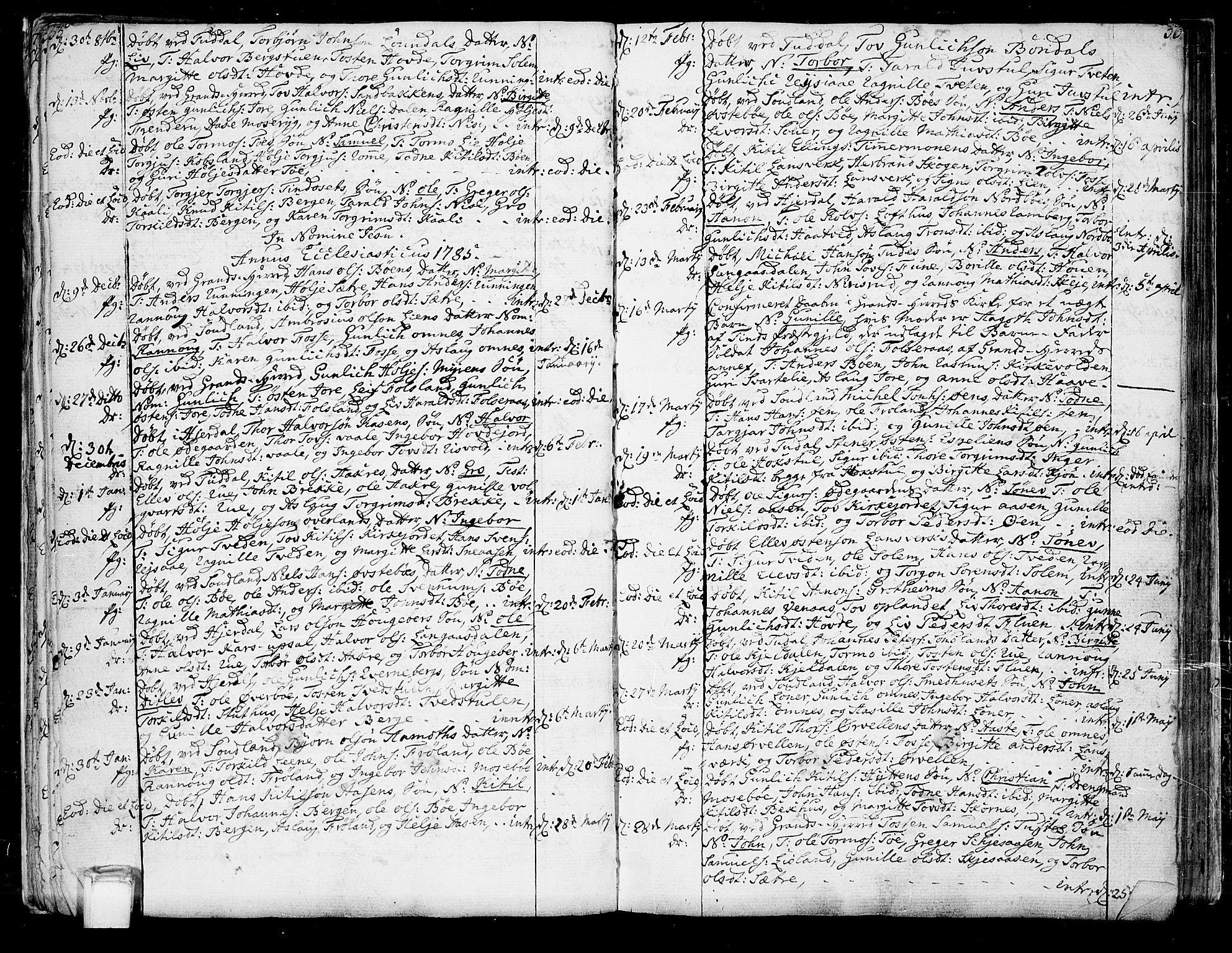 SAKO, Hjartdal kirkebøker, F/Fa/L0005: Ministerialbok nr. I 5, 1776-1801, s. 55-56