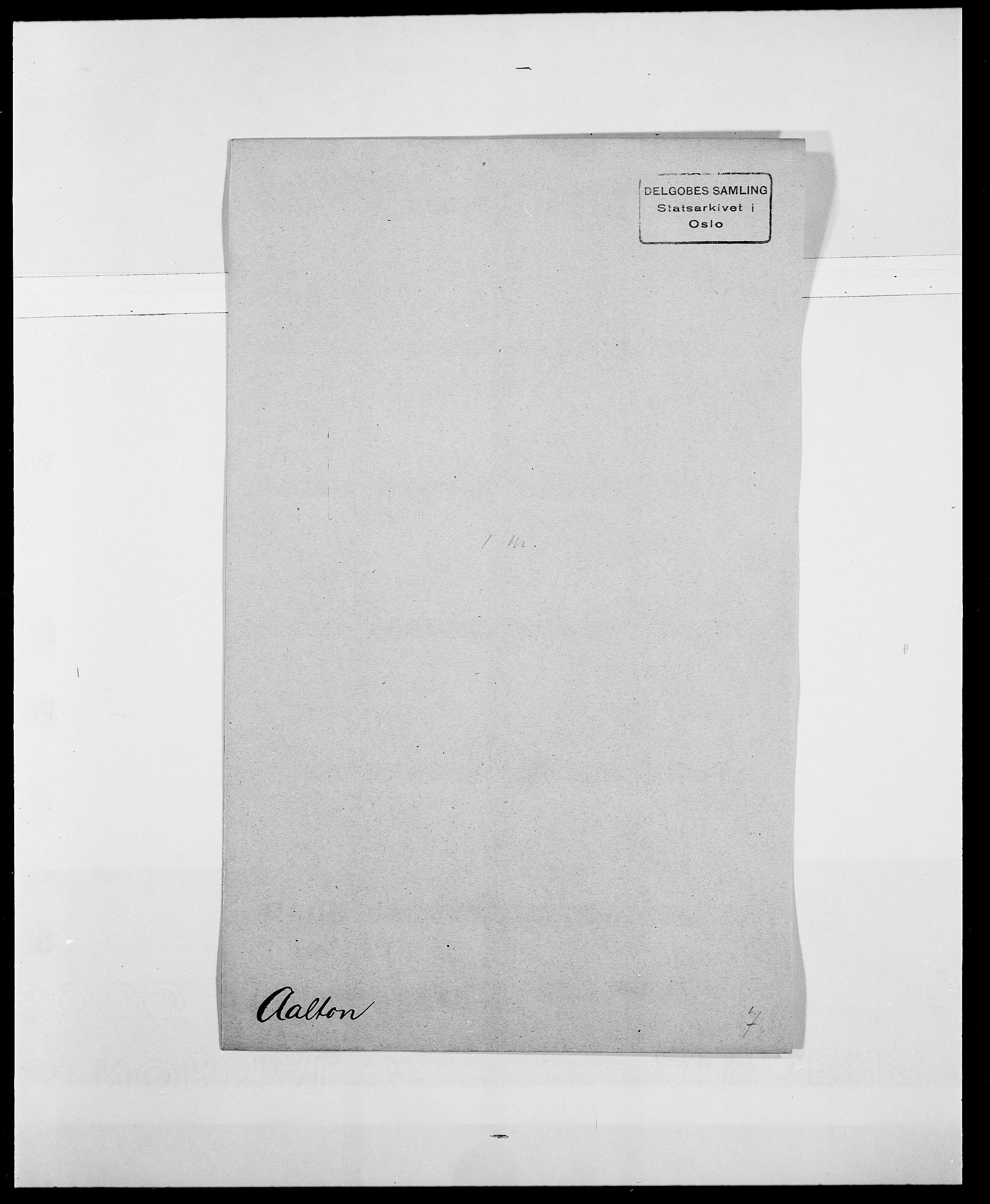 SAO, Delgobe, Charles Antoine - samling, D/Da/L0001: Aabye - Angerman, s. 64