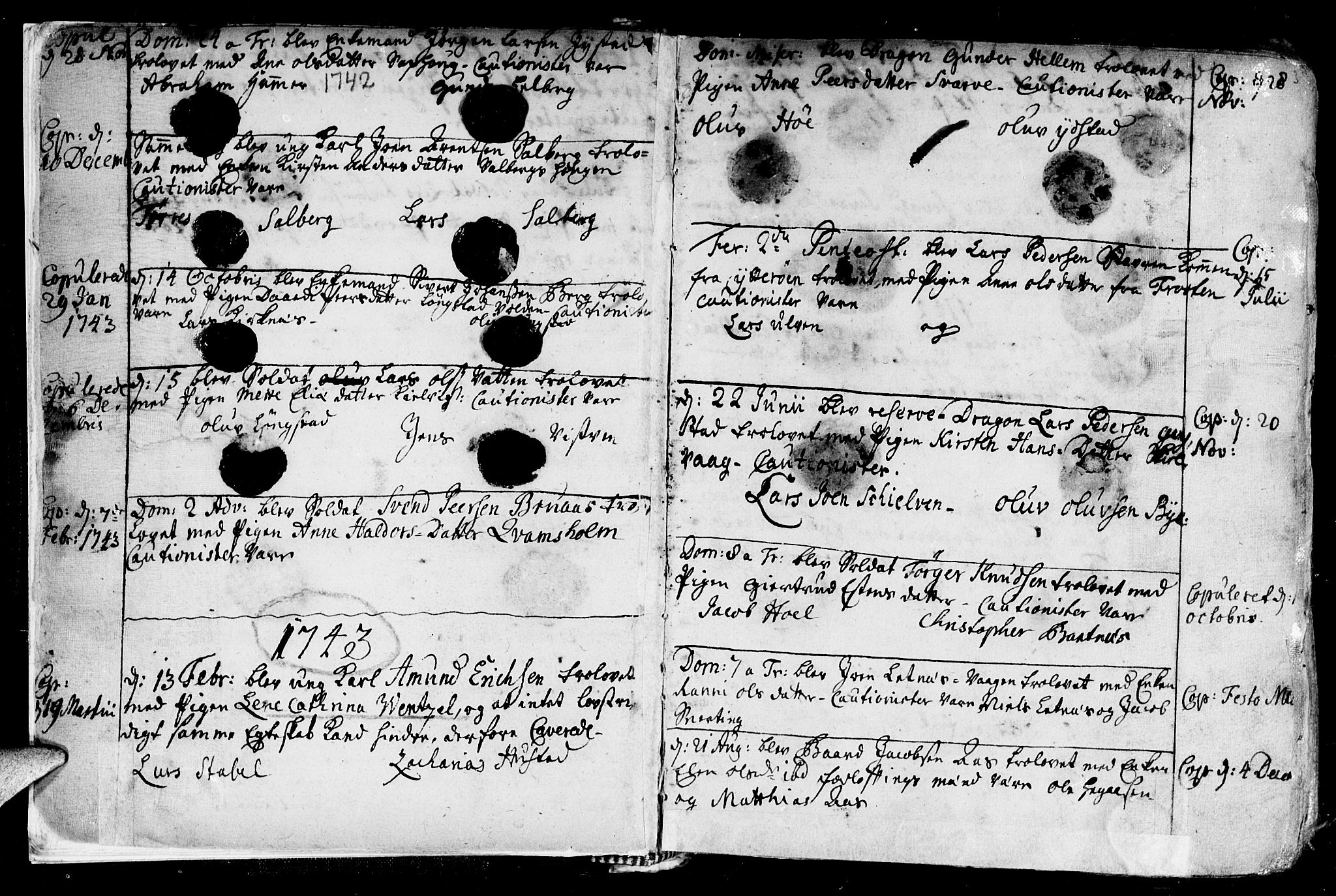 SAT, Ministerialprotokoller, klokkerbøker og fødselsregistre - Nord-Trøndelag, 730/L0272: Ministerialbok nr. 730A01, 1733-1764, s. 3