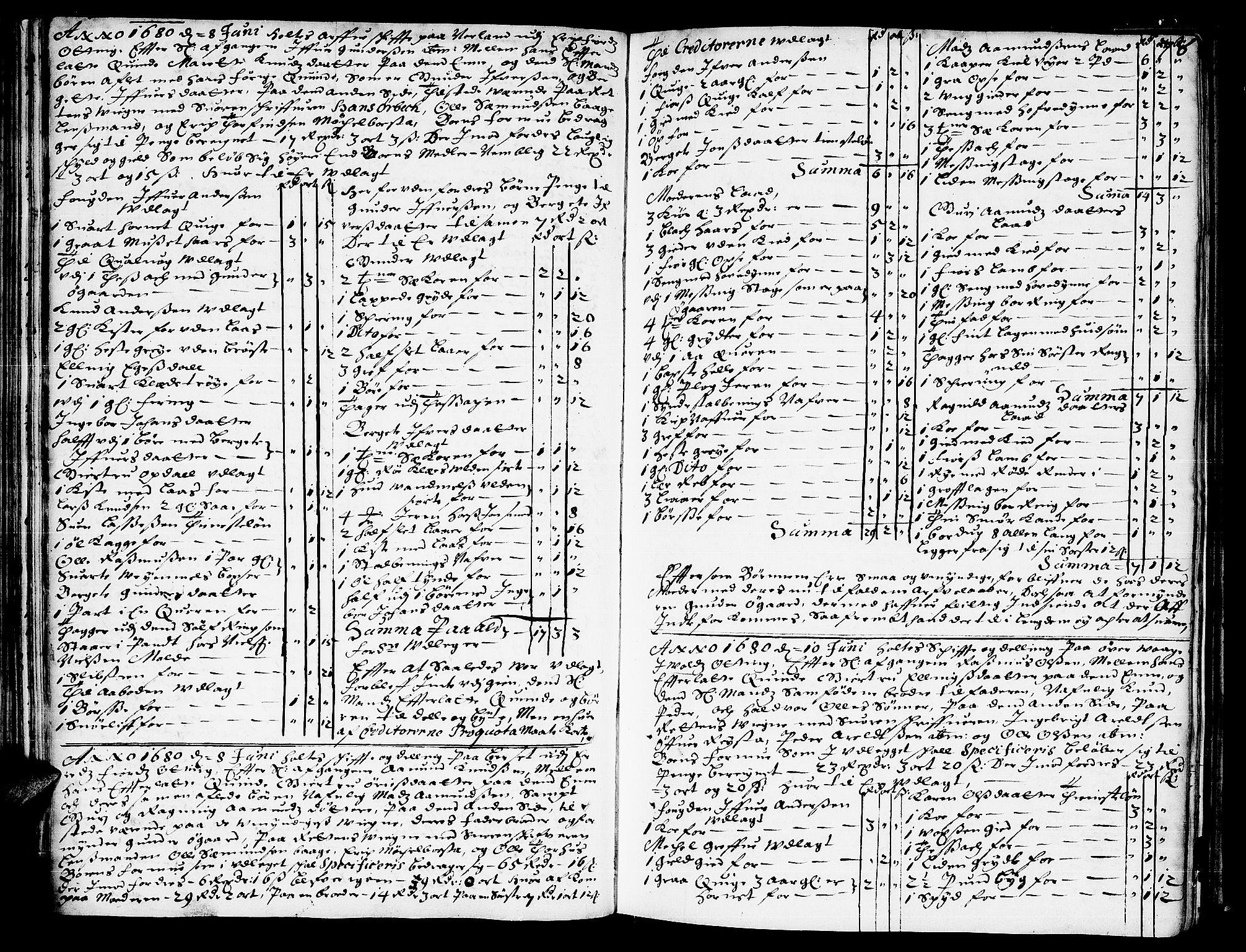 SAT, Romsdal sorenskriveri, 3/3A/L0001: Skifteprotokoll, 1677-1683, s. 77b-78a