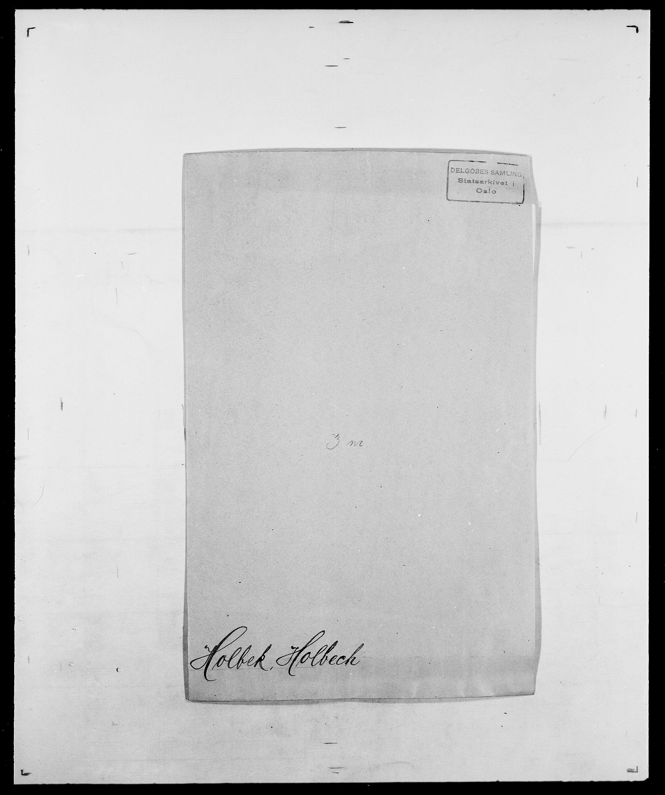 SAO, Delgobe, Charles Antoine - samling, D/Da/L0018: Hoch - Howert, s. 155