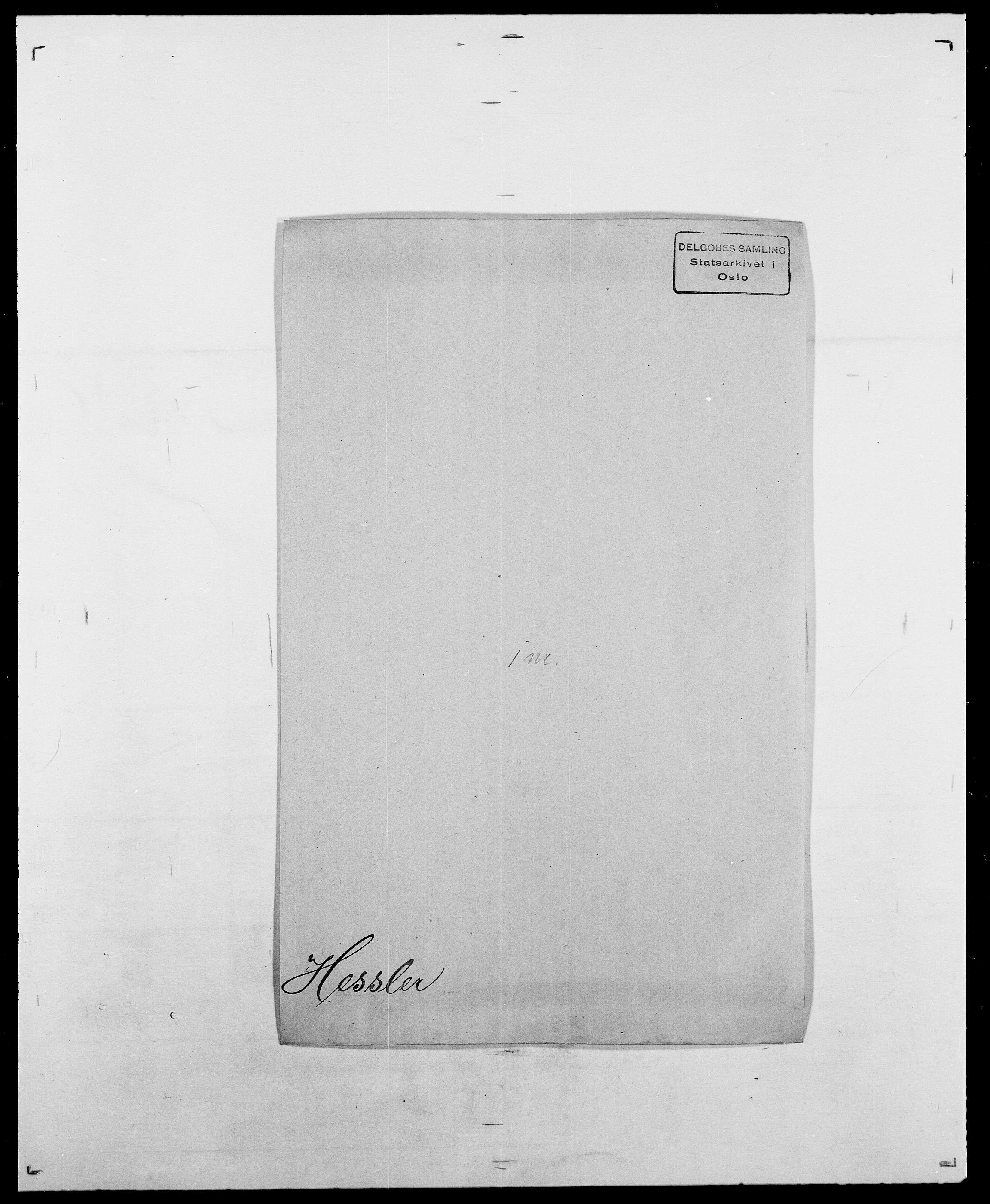 SAO, Delgobe, Charles Antoine - samling, D/Da/L0017: Helander - Hjørne, s. 347