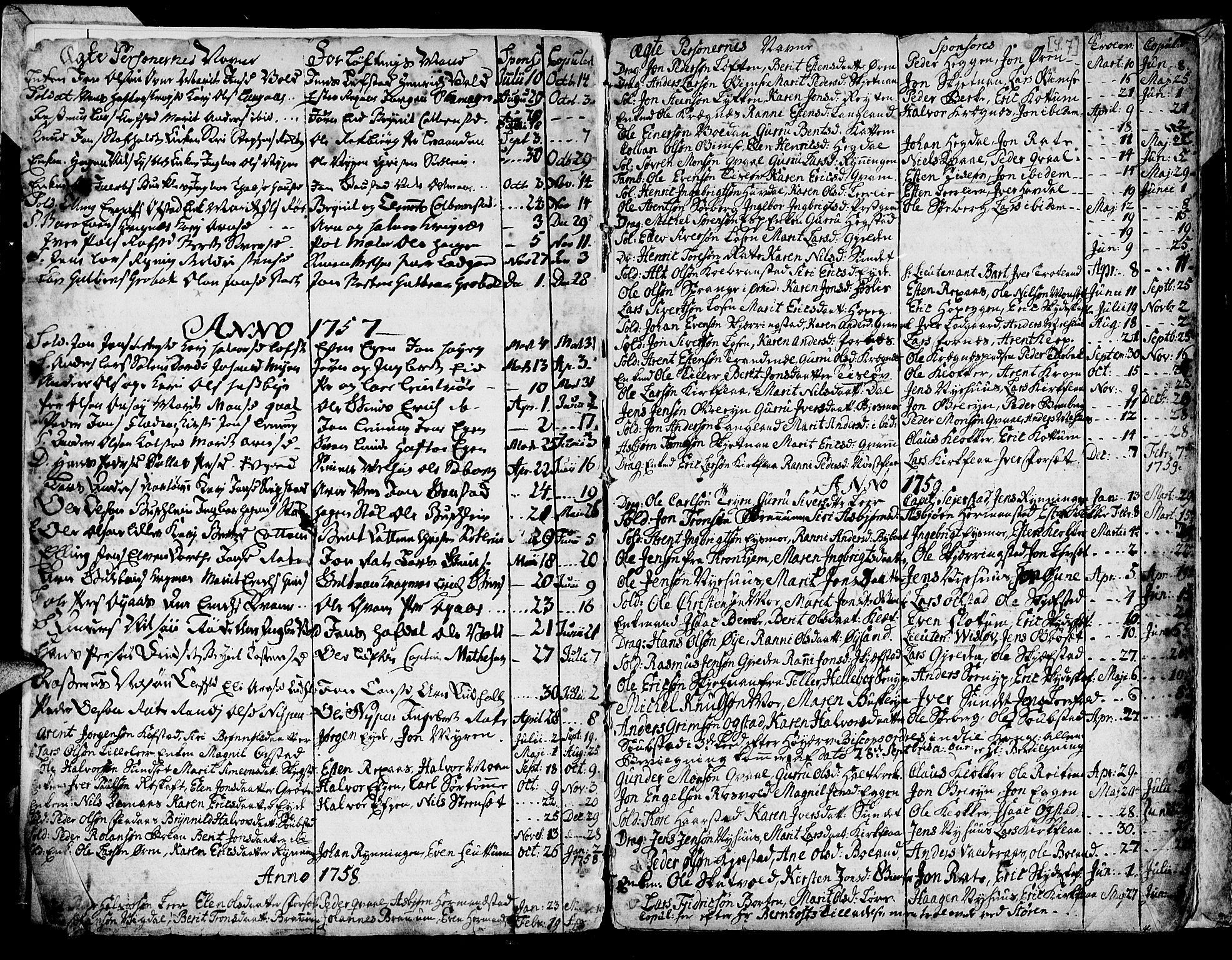SAT, Ministerialprotokoller, klokkerbøker og fødselsregistre - Sør-Trøndelag, 691/L1057: Ministerialbok nr. 691A01 /1, 1740-1767, s. 7